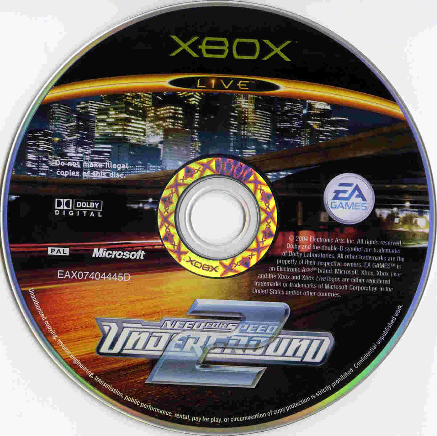 Covers Box Sk Need For Speed Underground 2 High Quality Dvd