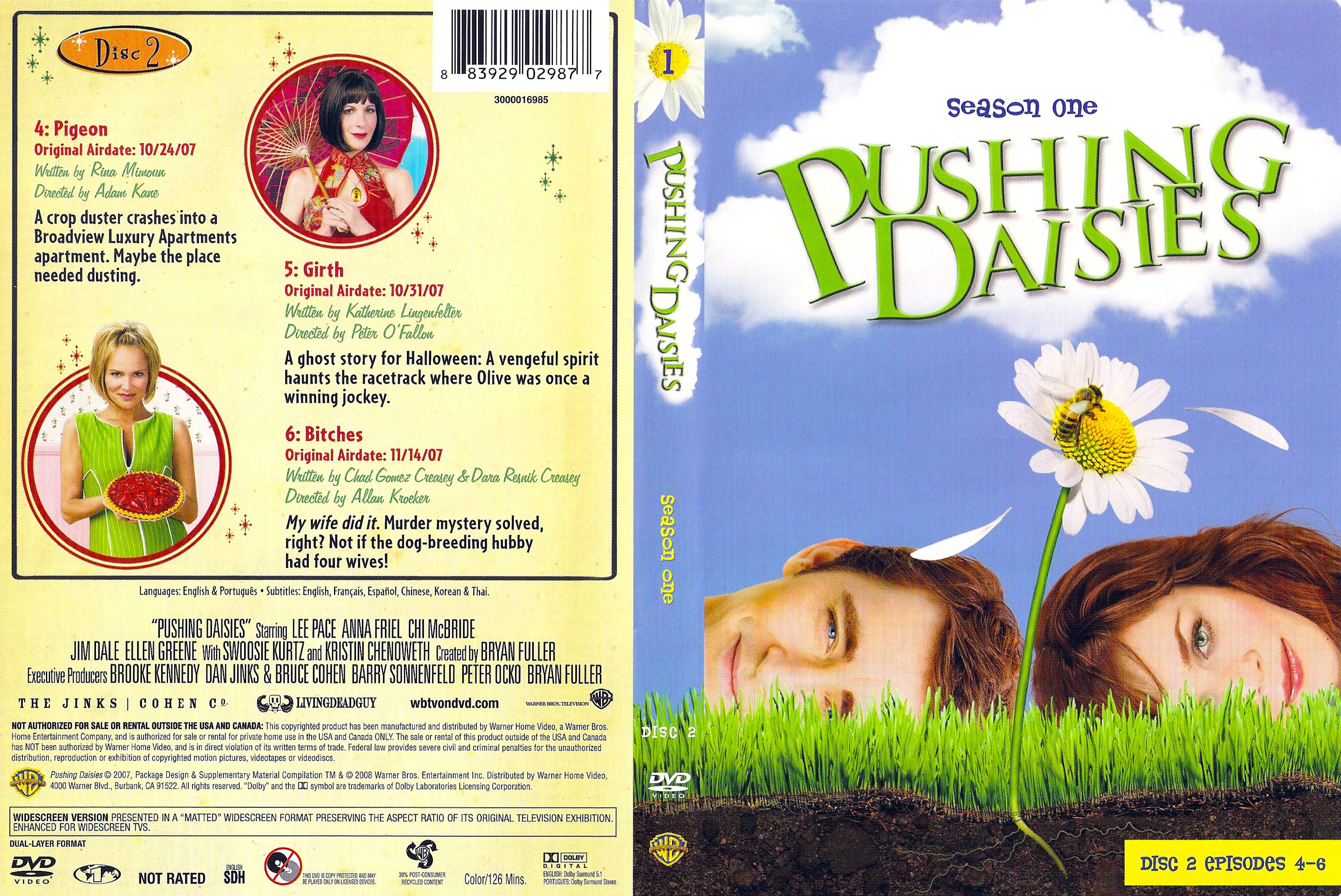 Pushing daisies: season 1 rotten tomatoes.