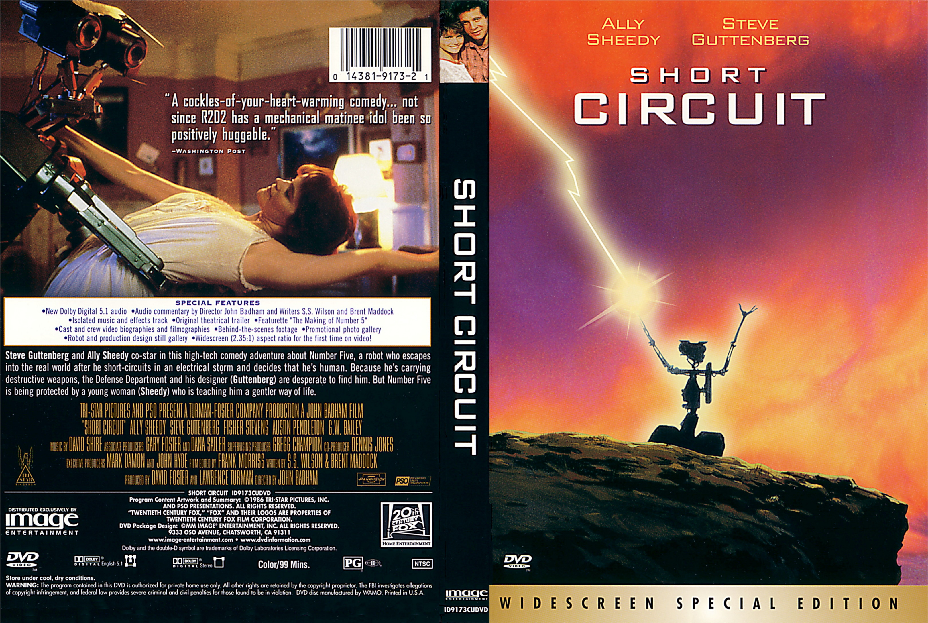 Coversboxsk Short Circuit 1986 High Quality Dvd Blueray Game Click Here For