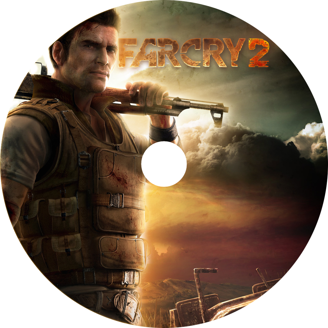 Covers Box Sk Far Cry 2 High Quality Dvd Blueray Movie