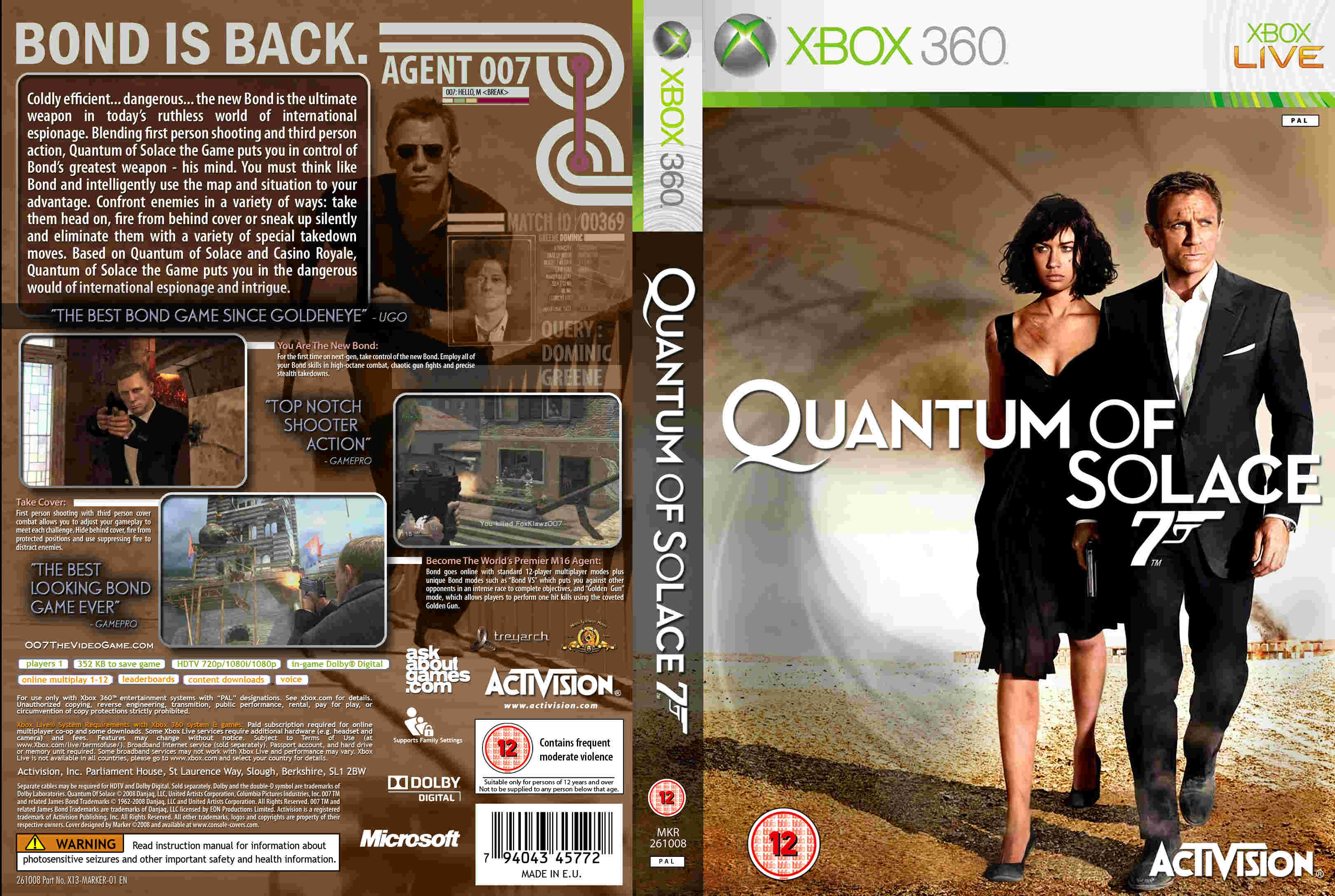 Cover has been resized  Quantum Of Solace Cover