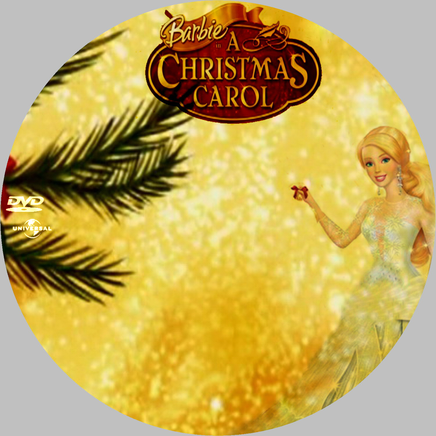 COVERS.BOX.SK ::: barbie in a christmas carol 2008 - high quality DVD / Blueray / Movie