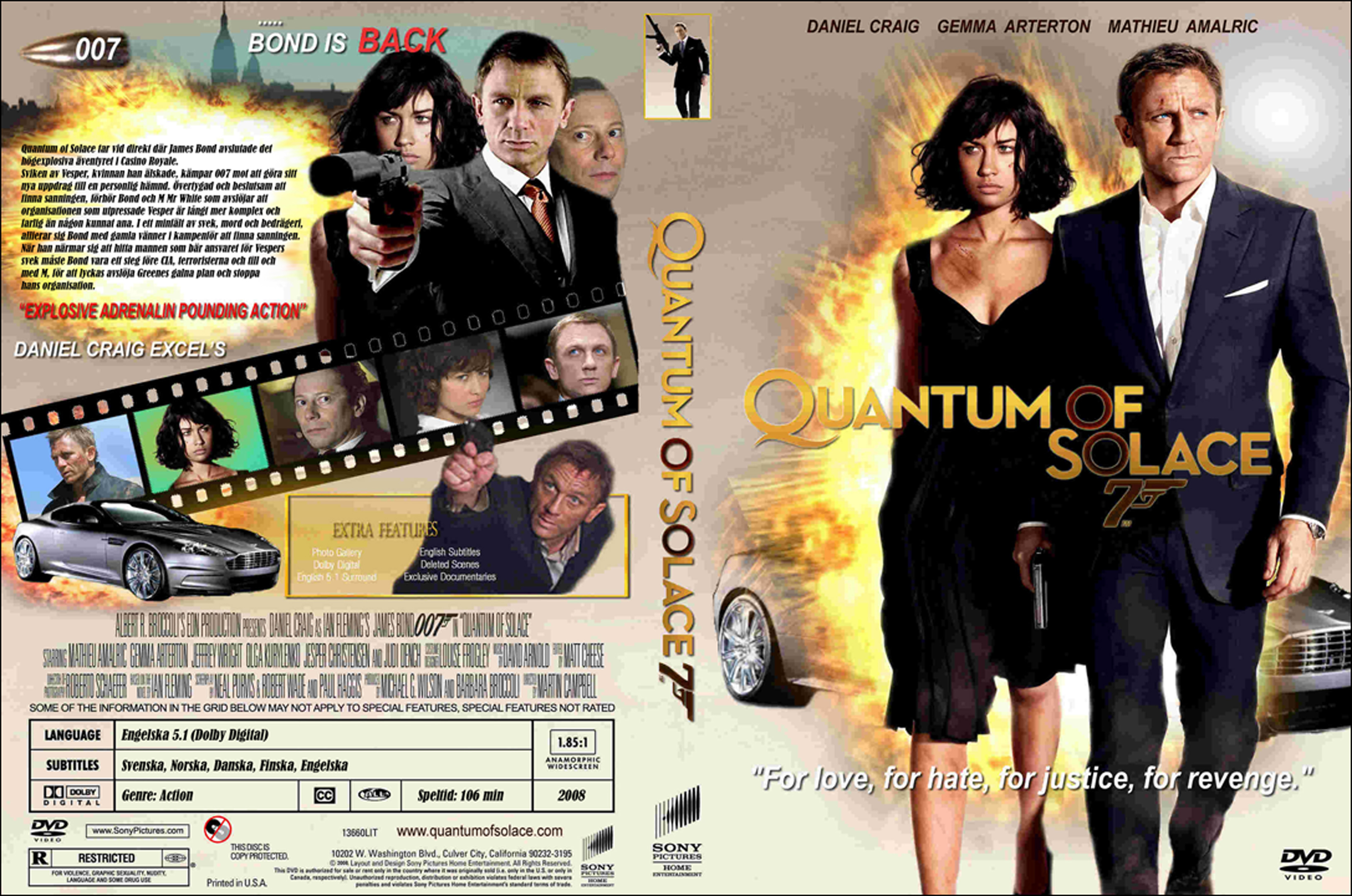 quantum of solace dvd cover - photo #6