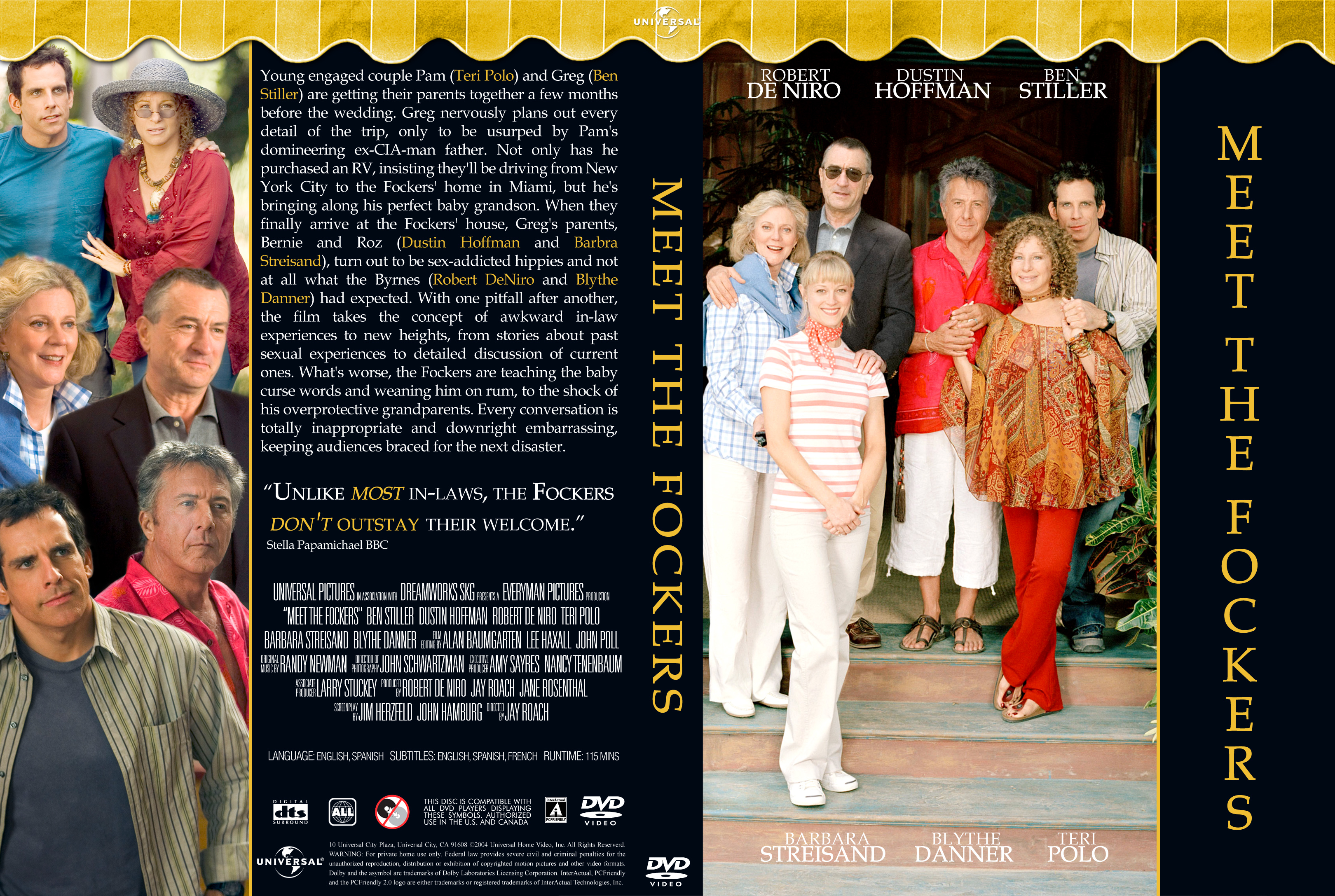 Covers Box Sk Meet The Fockers 2004 High Quality Dvd Blueray Movie