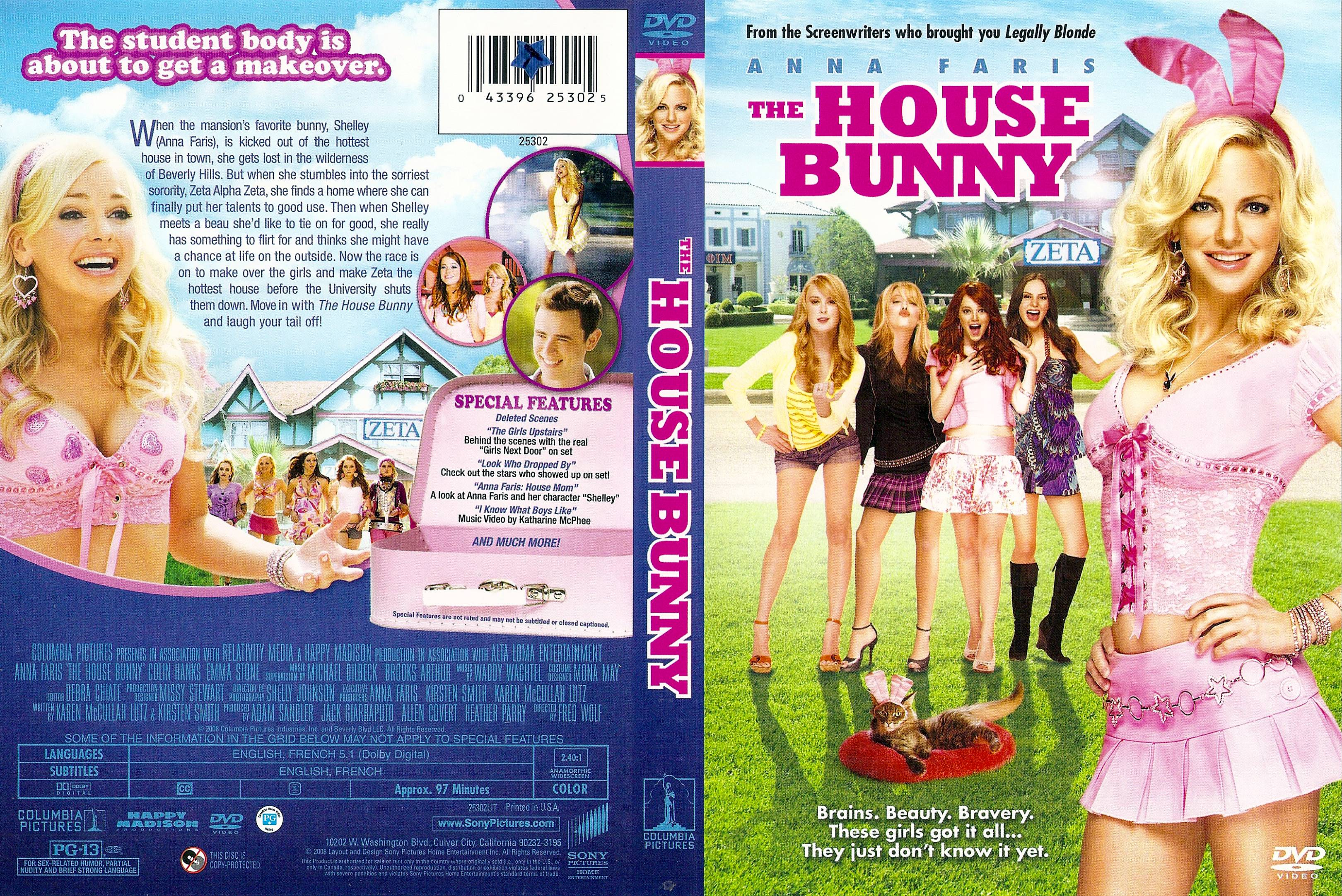 House Bunny Characters with covers.box.sk ::: the house bunny (2008) - high quality dvd