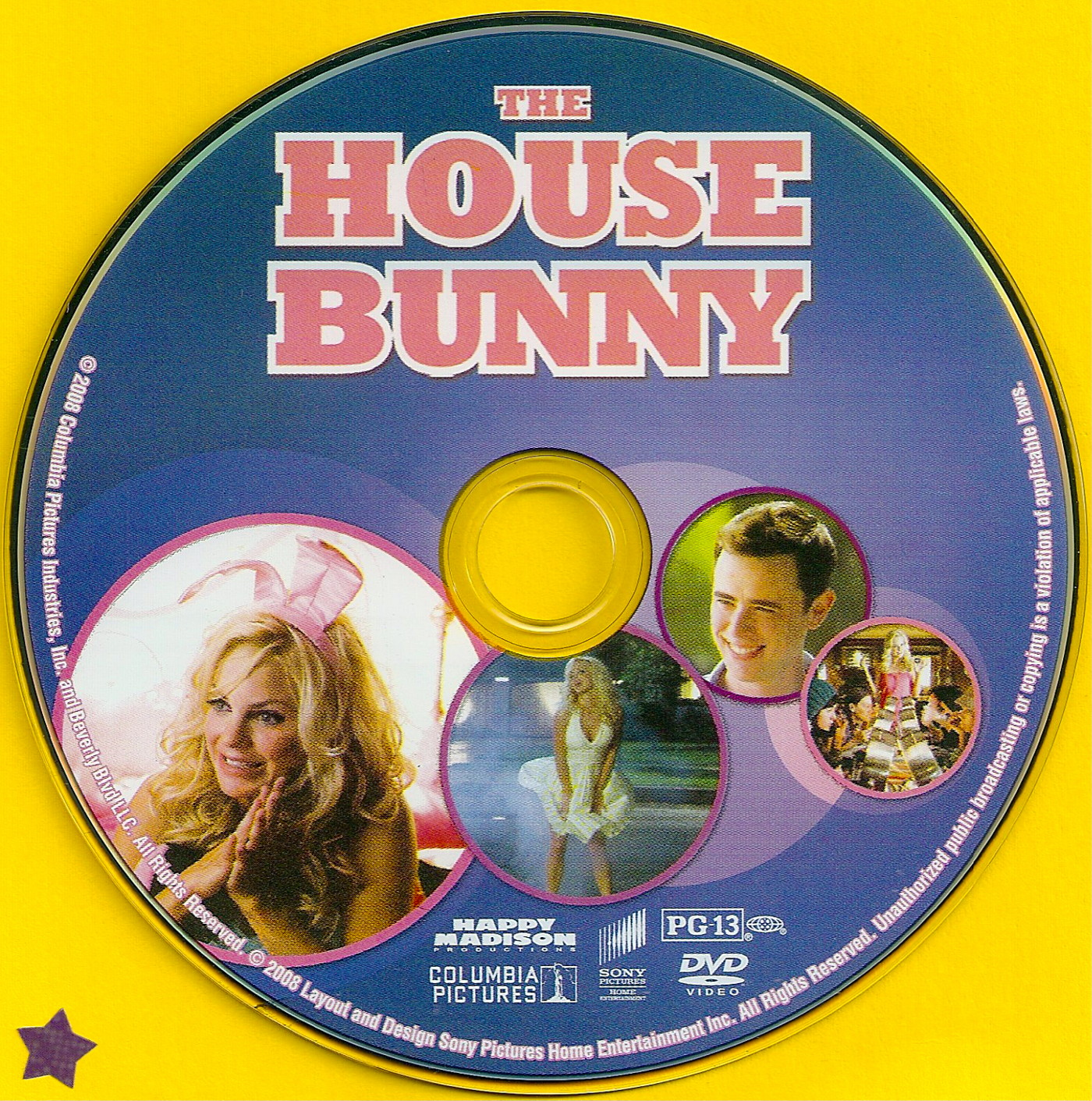 COVERSBOXSK The House Bunny high quality DVD