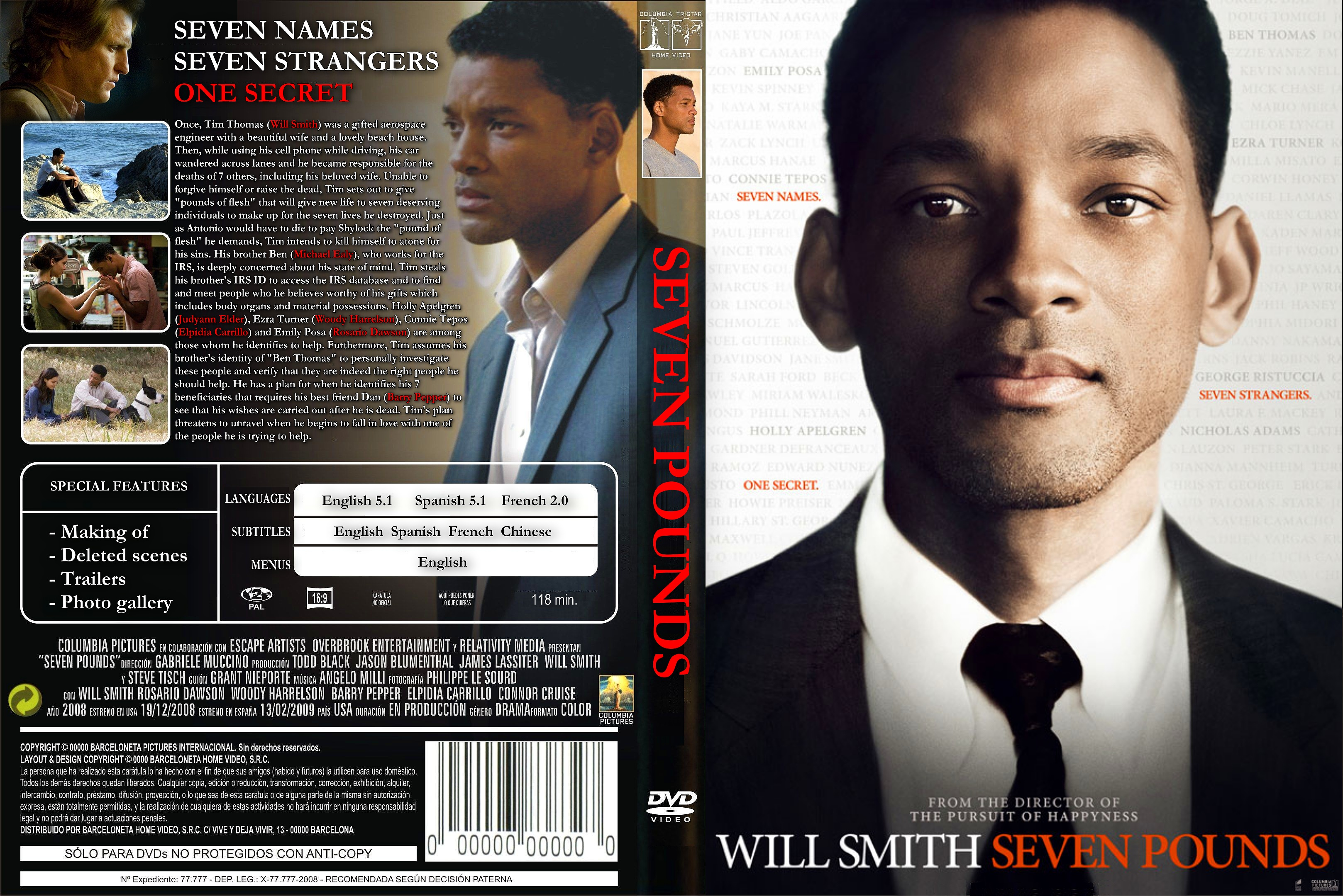 Seven lives movie will smith