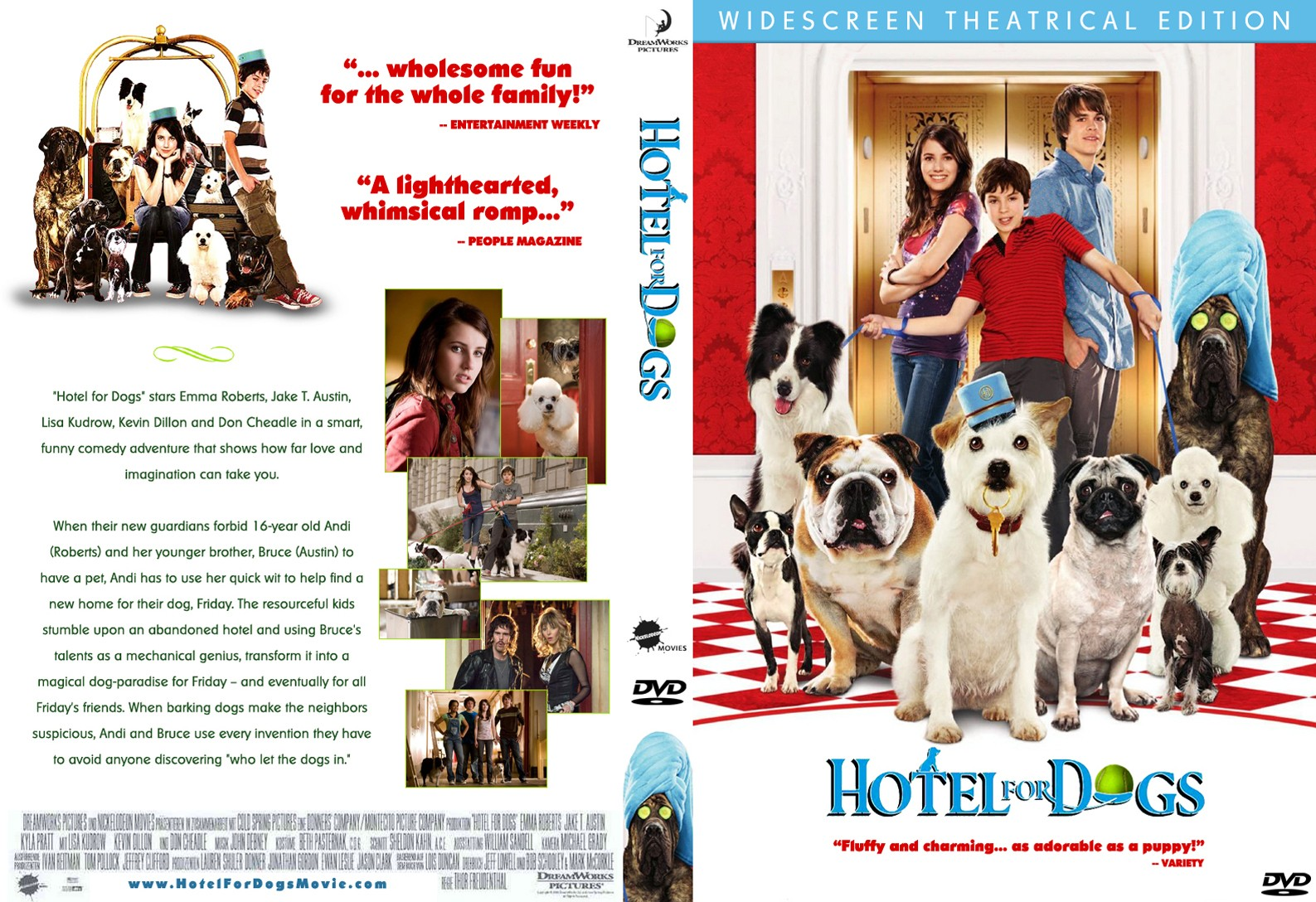 Hotel For Dogs Movie Cover Www Topsimages Com
