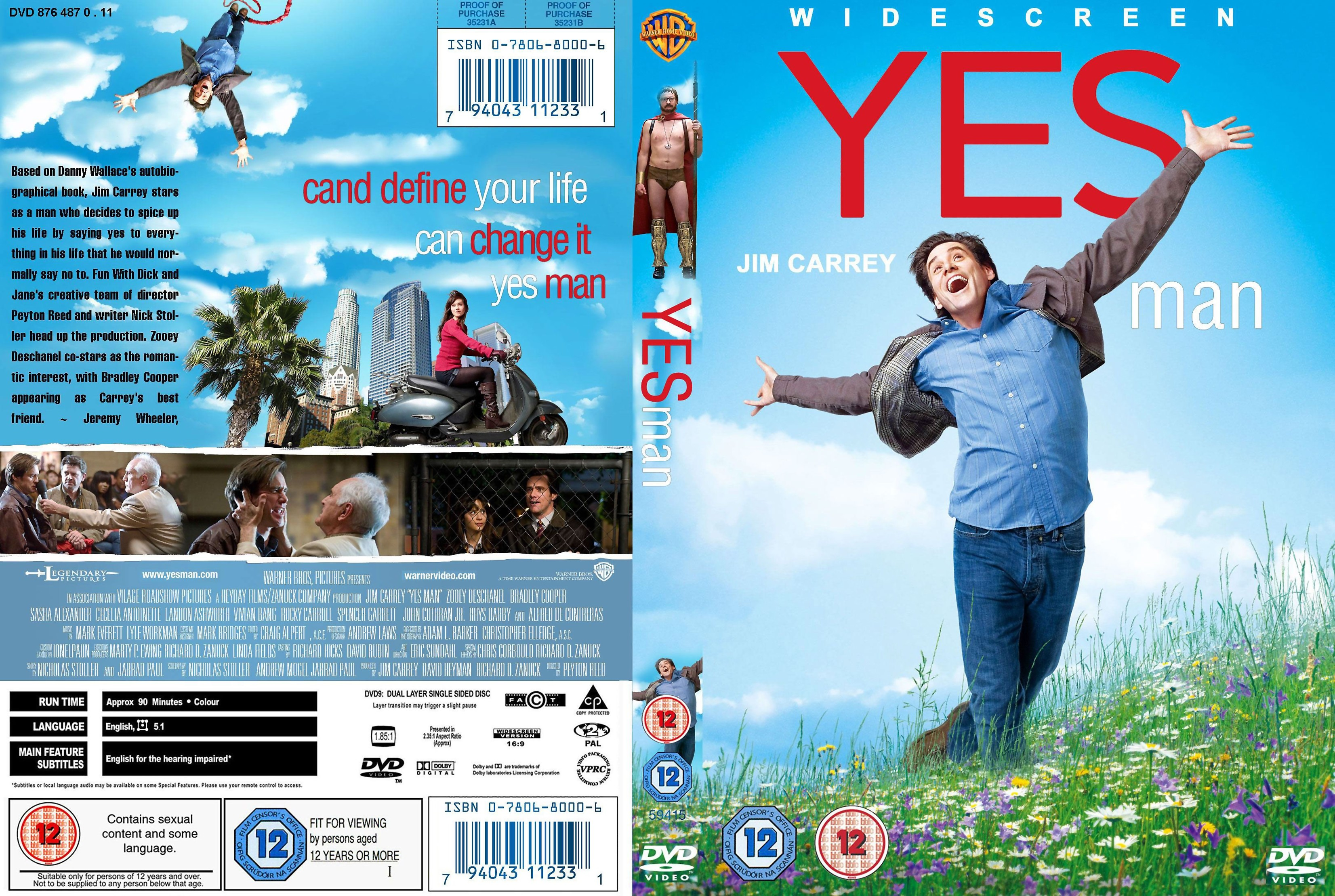 coversboxsk yes man 2008 high quality dvd