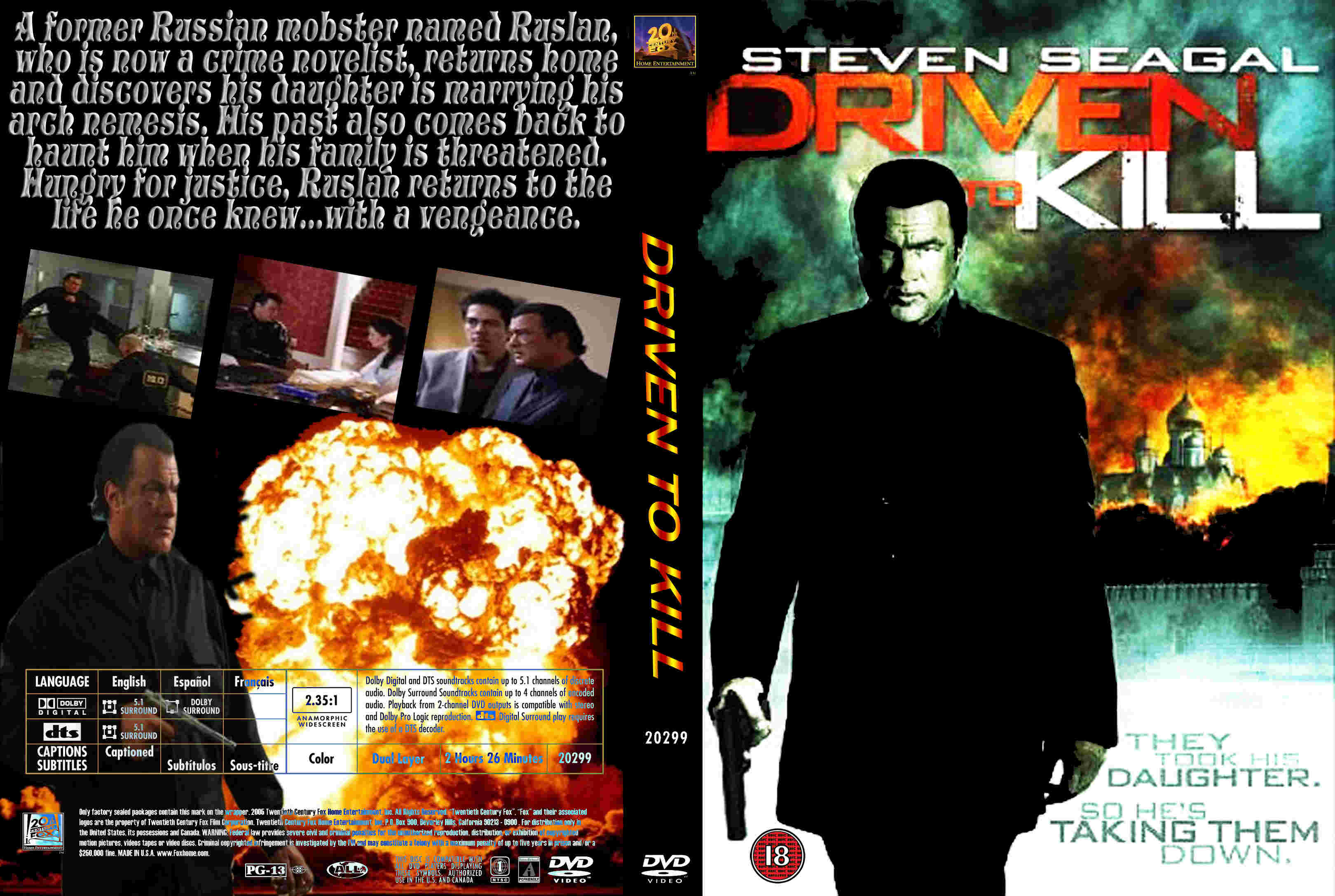 coversboxsk driven to kill 2009 high quality dvd