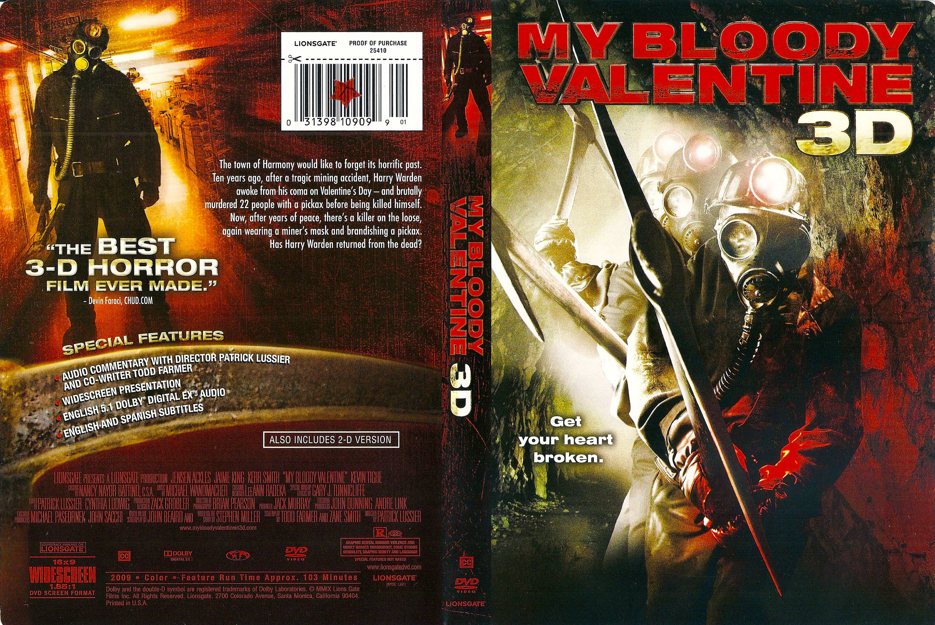 COVERSBOXSK My Bloody Valentine 3D 2009 High