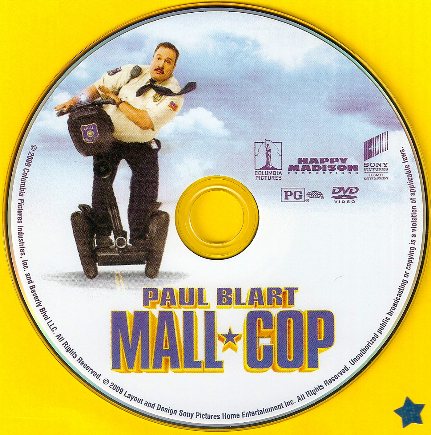 Covers Box Sk Paul Blart Mall Cop 2009 High Quality Dvd Blueray Movie