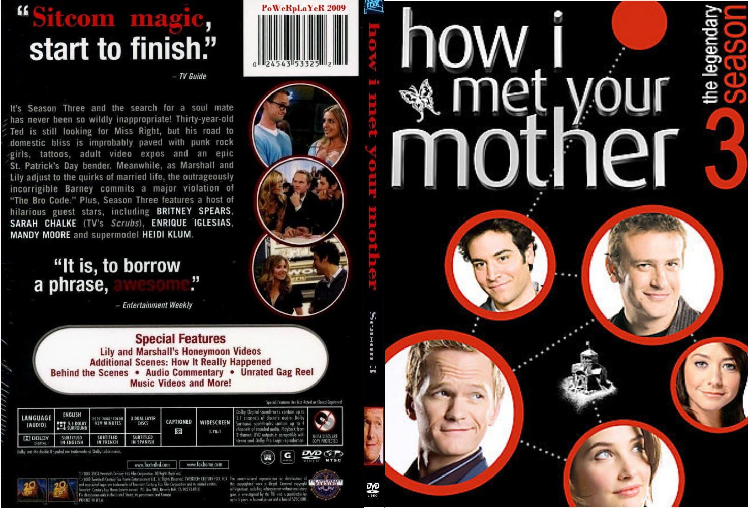 covers box sk how i met your mother season 3 slim