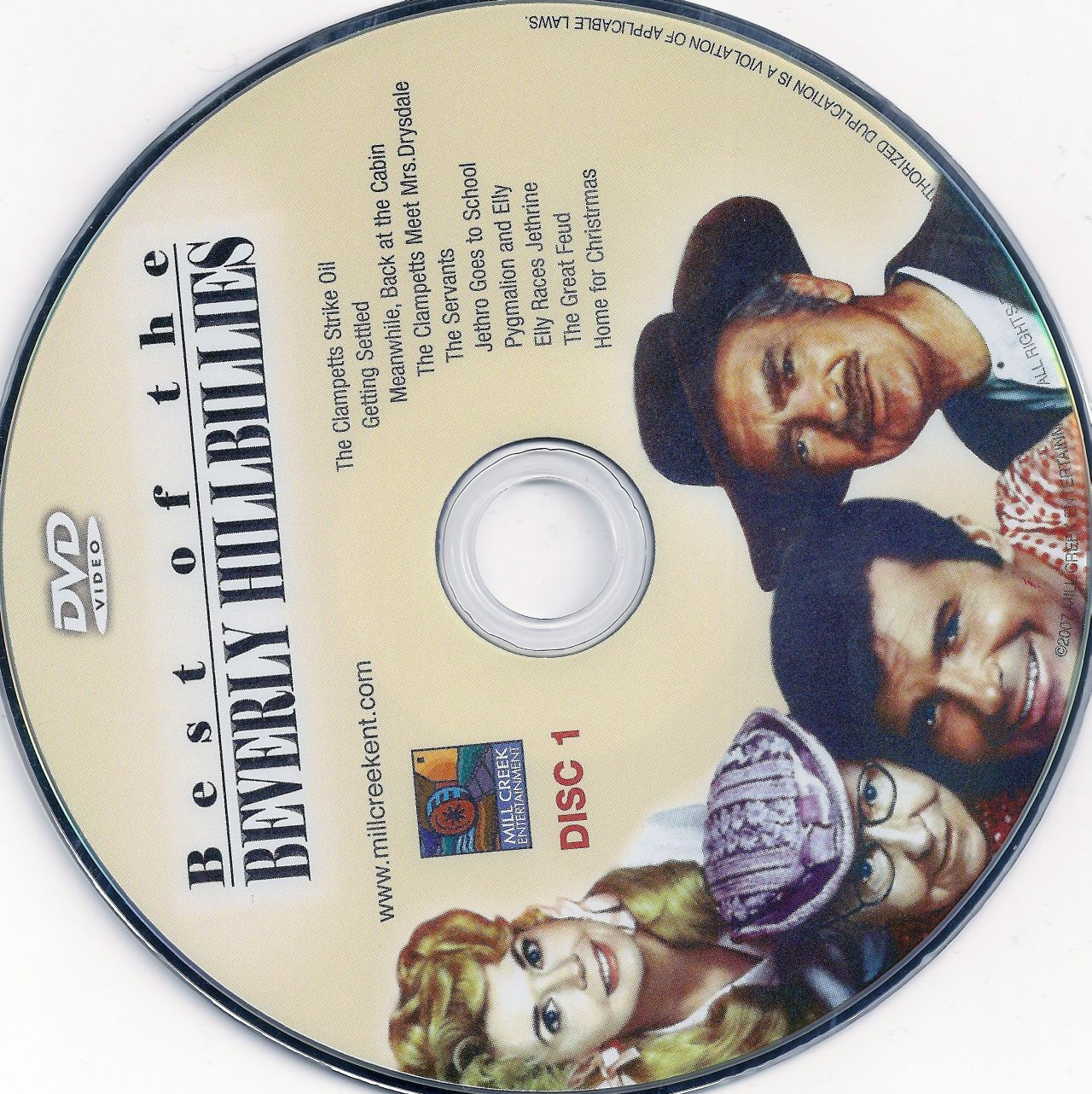 COVERS.BOX.SK ::: beverly hillbillies best of disc 1 - high quality ...