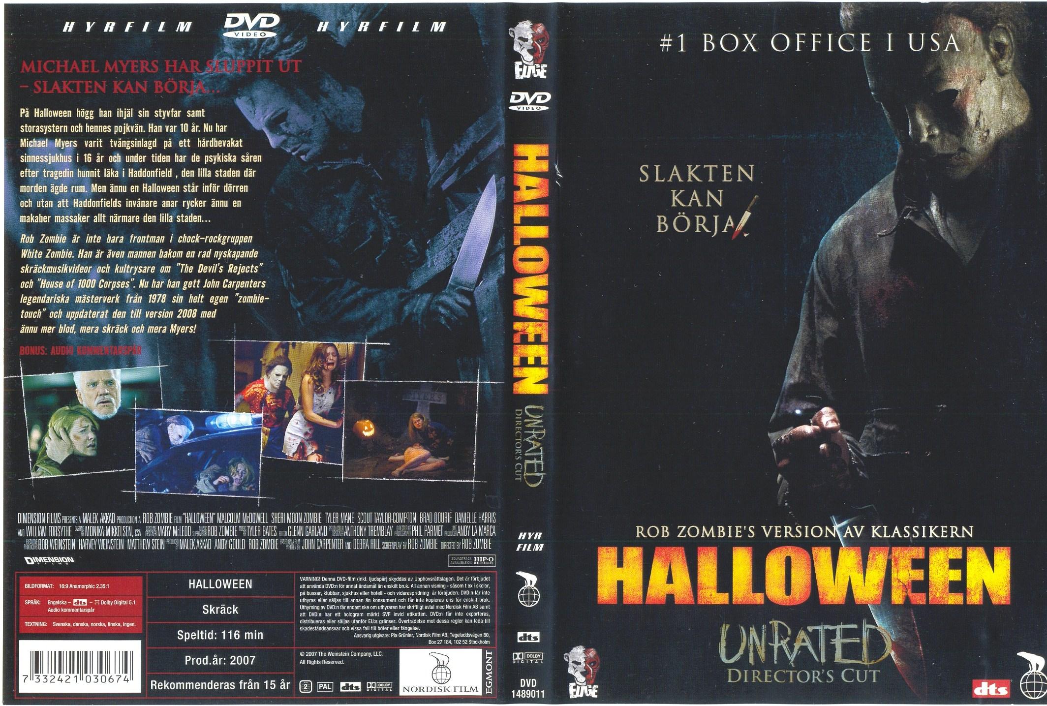 COVERS.BOX.SK ::: Halloween (2007) (Swedish Original, High Quality ...