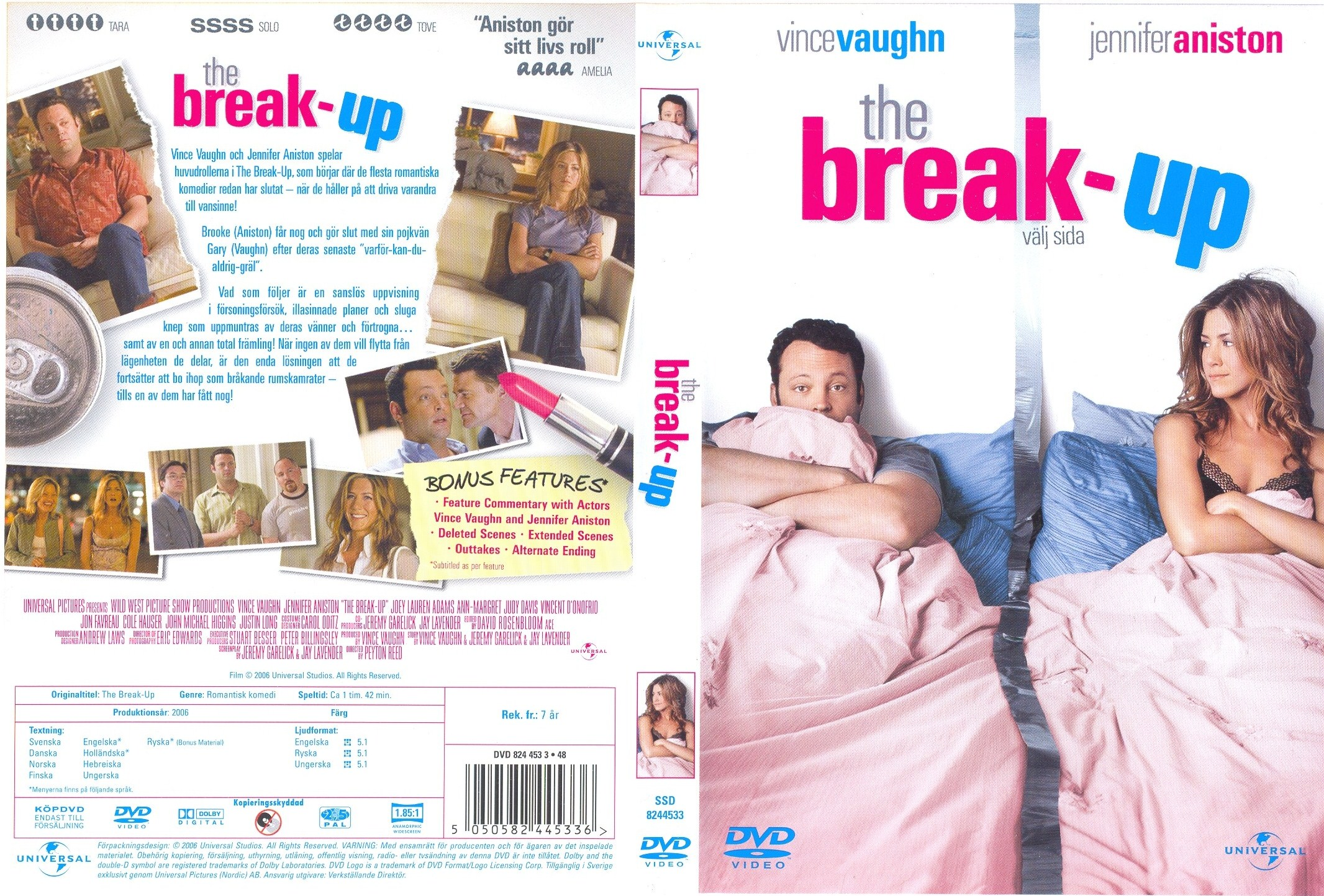Covers Box Sk The Break Up 2006 High Quality Dvd Blueray Movie