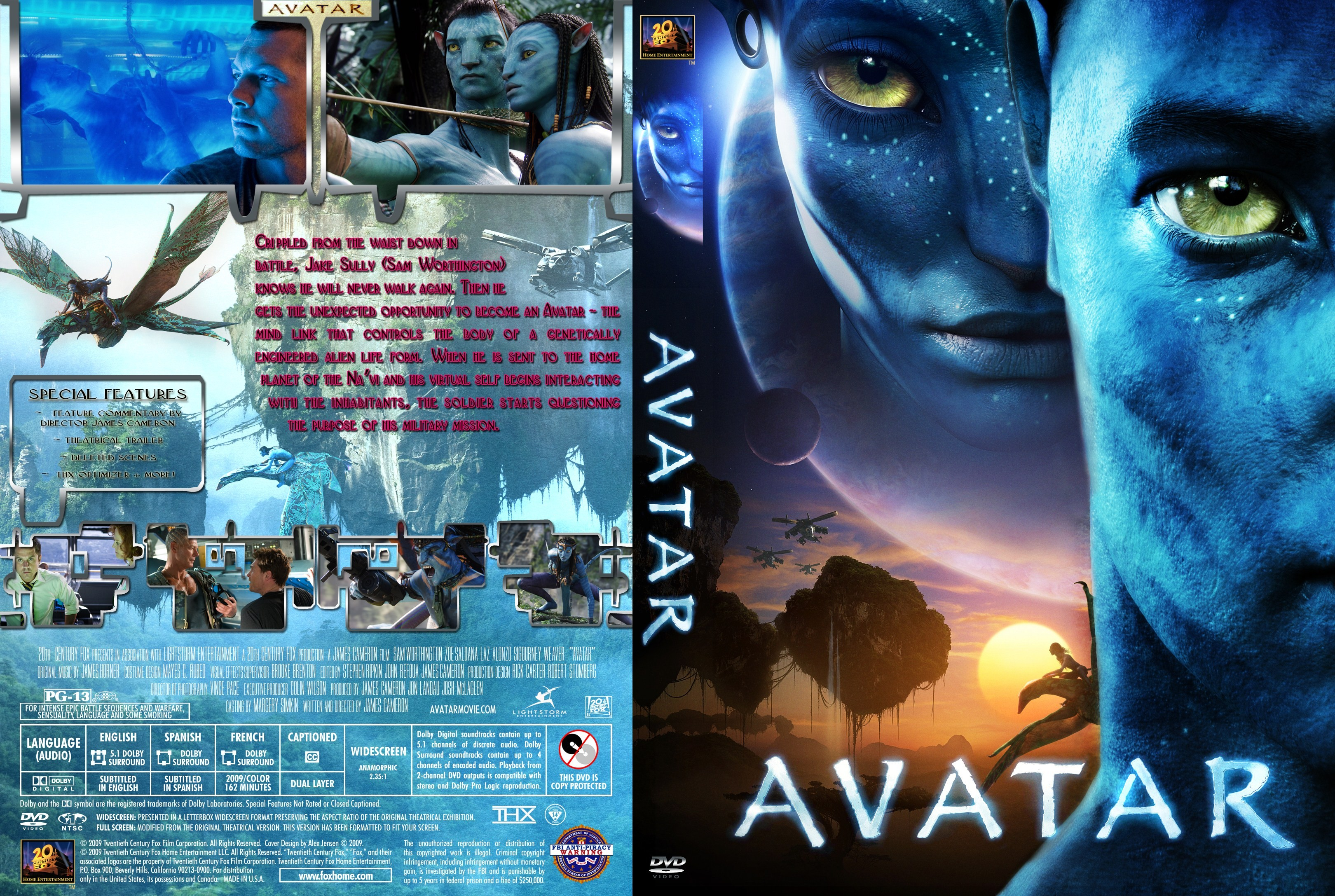 Avatar  Your Own Screensaver  Free Screensavers