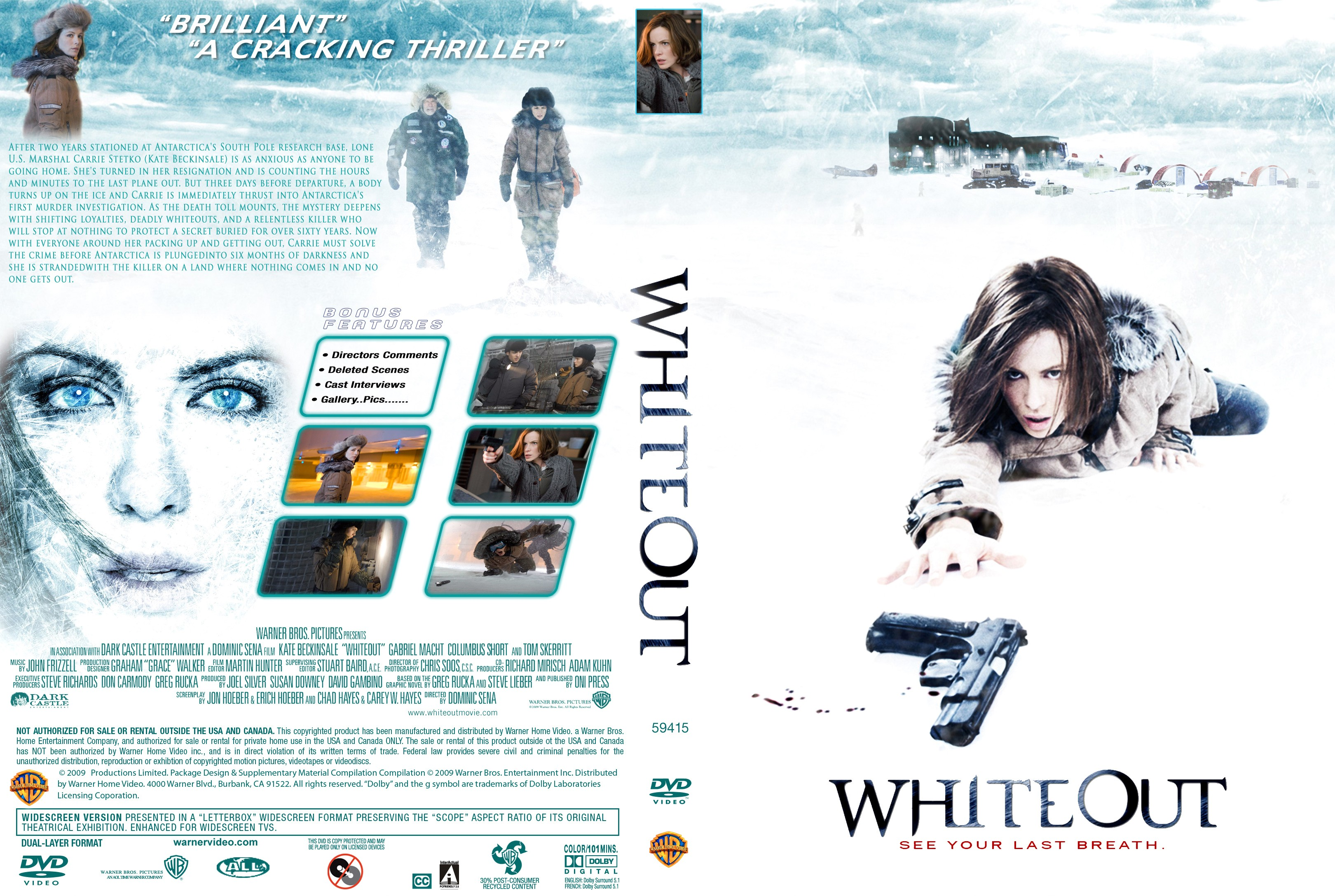 Whiteout Movie Poster Images For gt Whiteout Movie