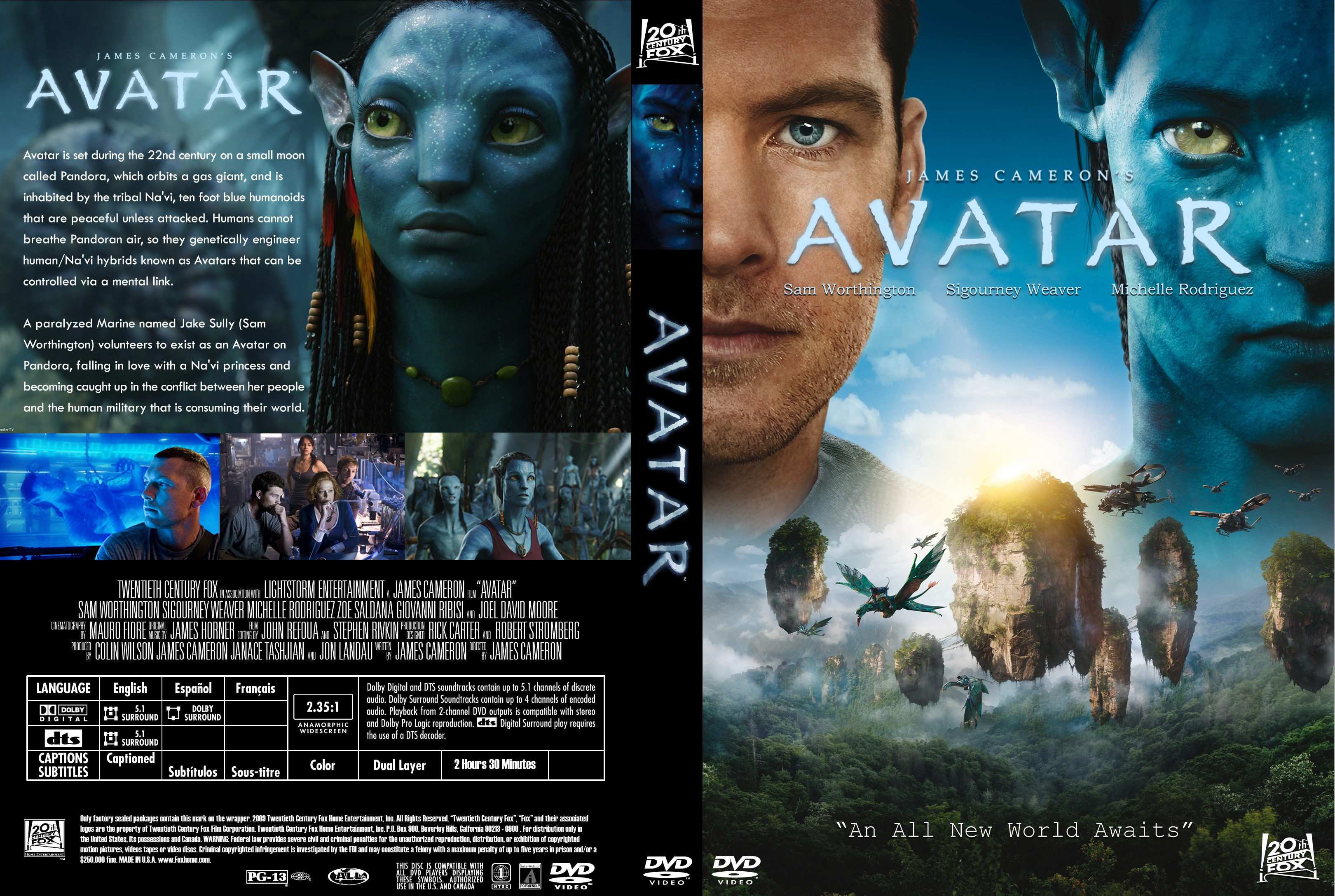 Book Cover Portadas Hd ~ Caratulas dvd avatar bluray