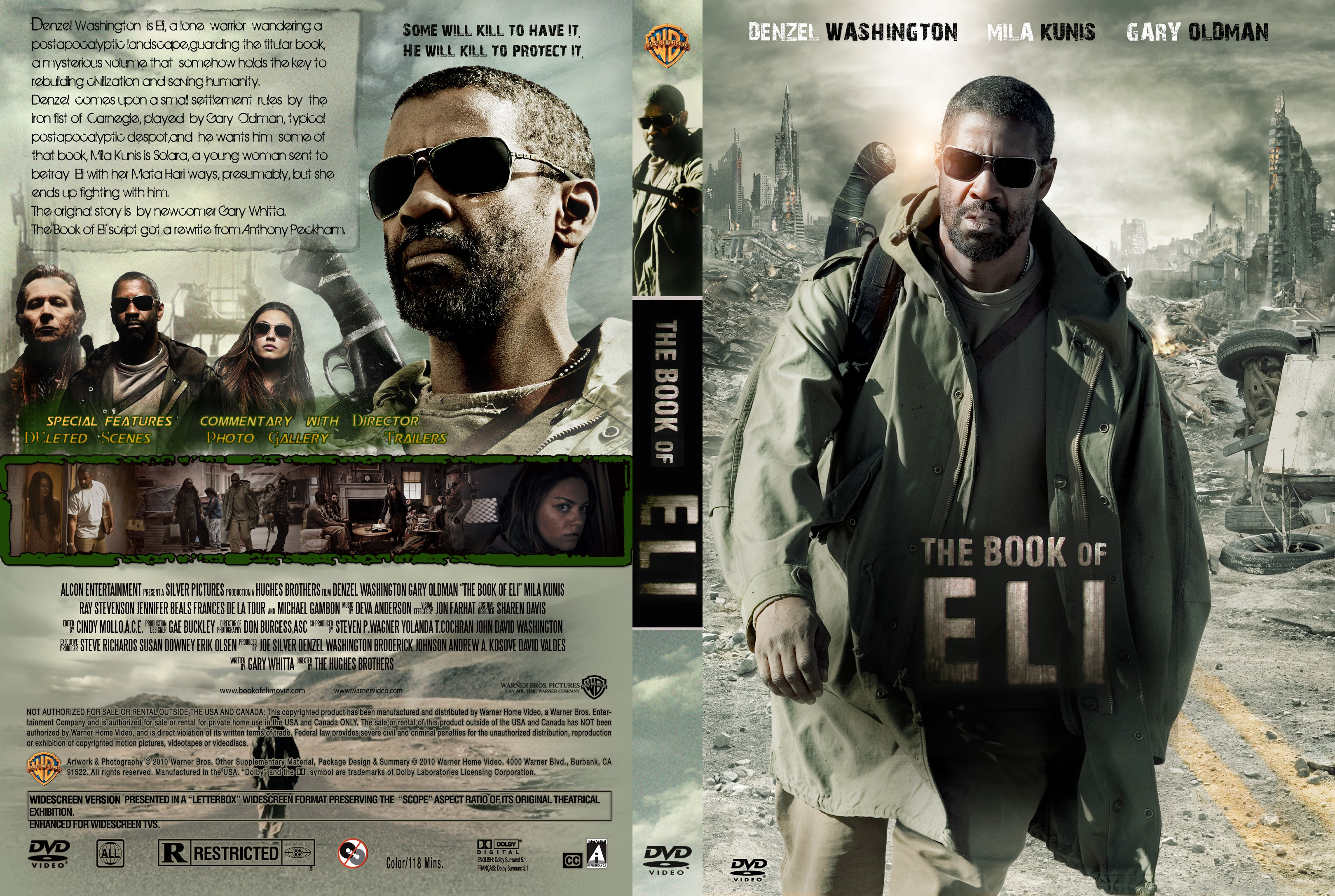 covers.box.sk ::: the book of eli - high quality dvd / blueray / movie