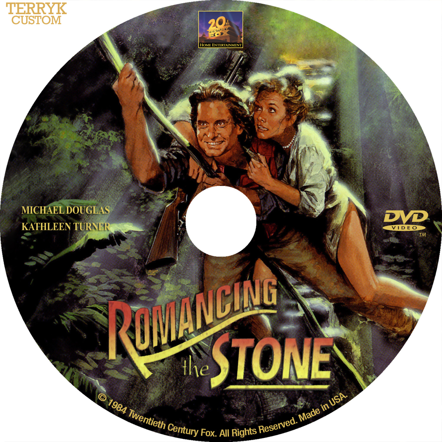 ROMANCING THE STONE  1984  - Watch Online For Free on TubePlusRomancing The Stone
