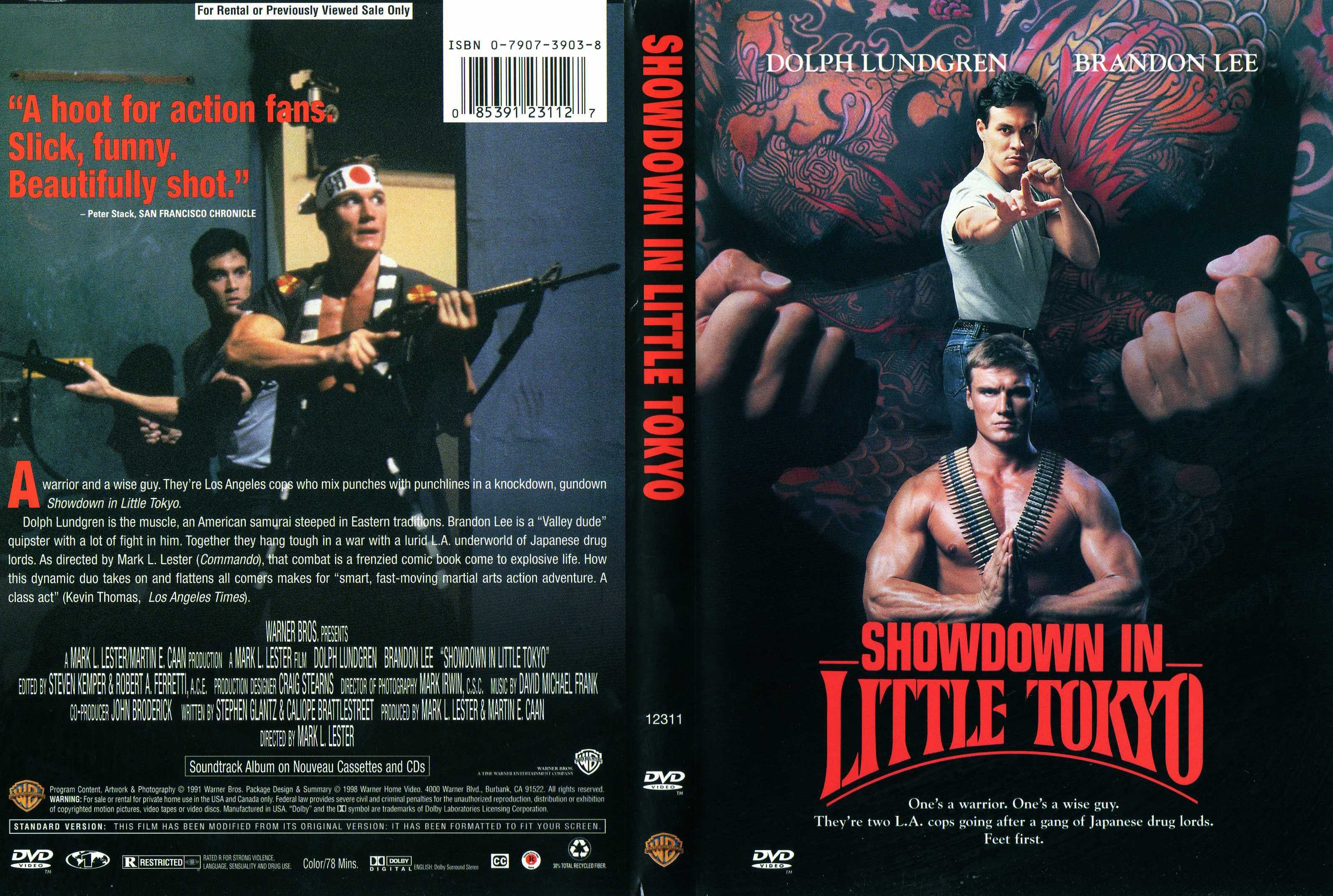 COVERS.BOX.SK ::: Showdown In Little Tokyo (1991) - high quality DVD ...