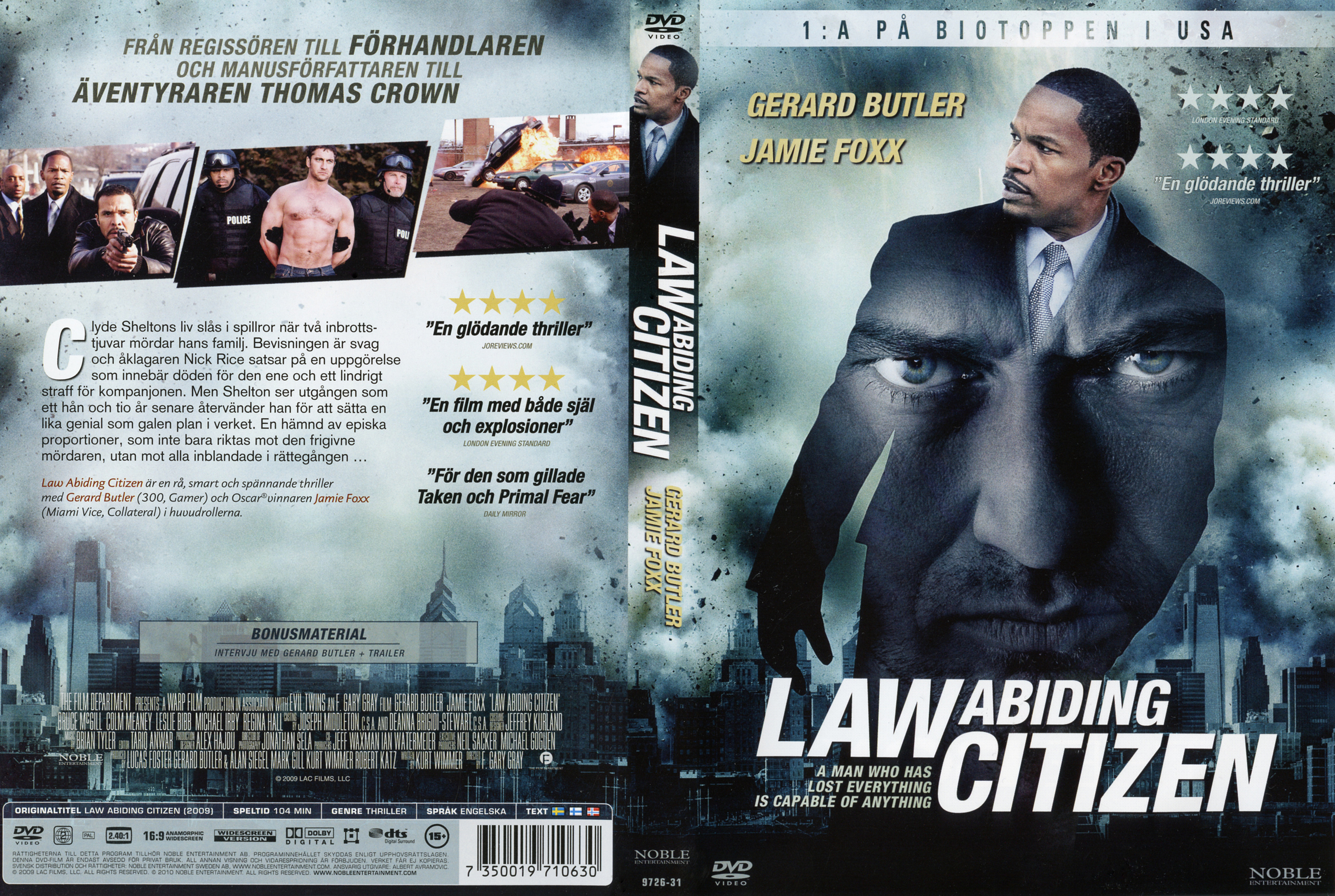 law abiding citizen analysis The music in a manner links to the small miss that was subsequently on in the film rapped an set uping shooting introduces us to the chief character  the shooting shows the chief character and his kid which suggests that he has a normal household life.