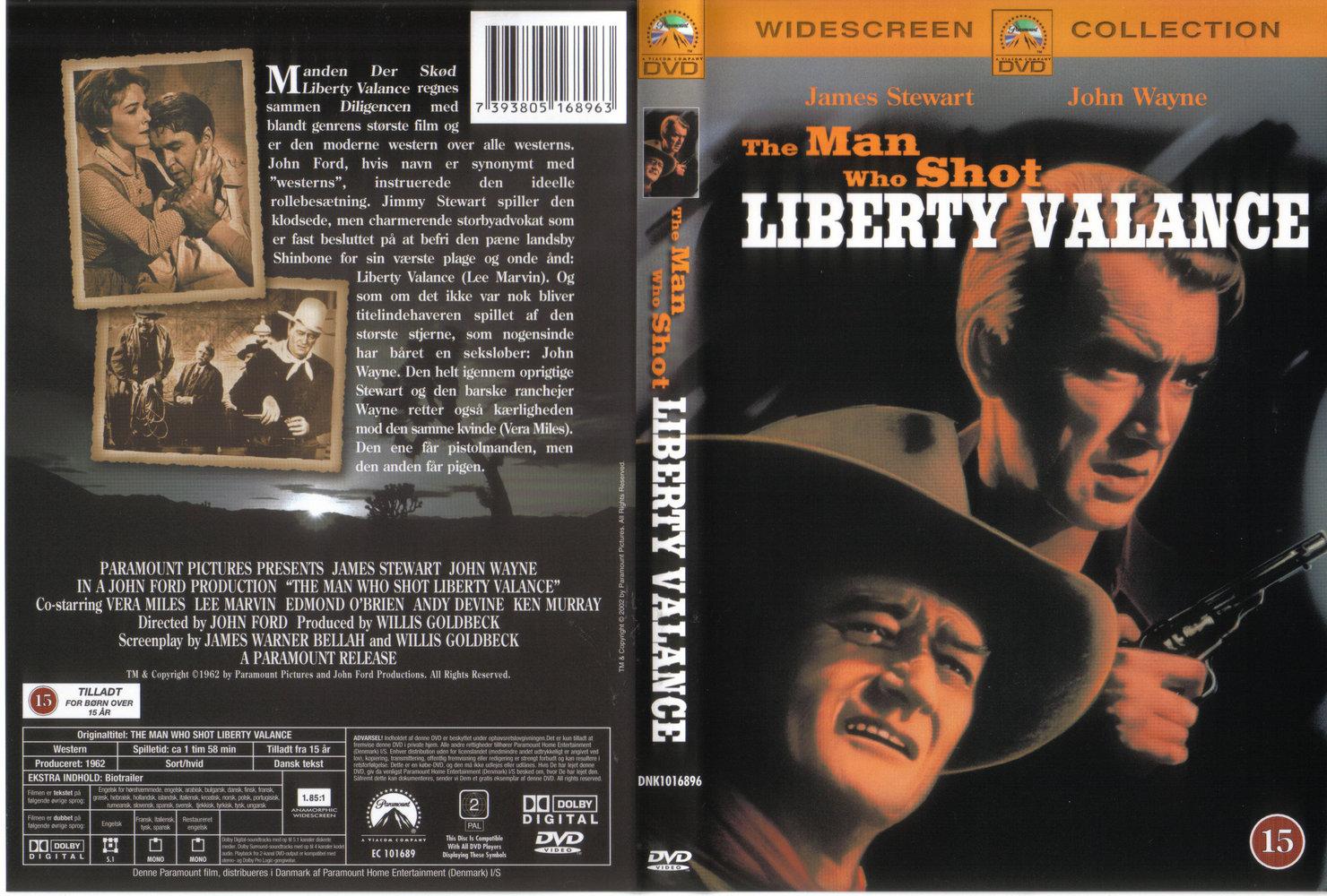 COVERS.BOX.SK ::: Man Who Shot Liberty Valance, The (1962
