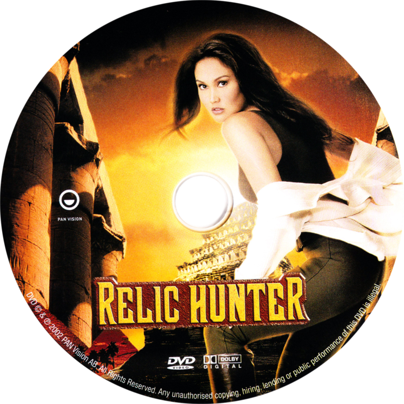 Covers Box Sk Relic Hunter High Quality Dvd Blueray Movie