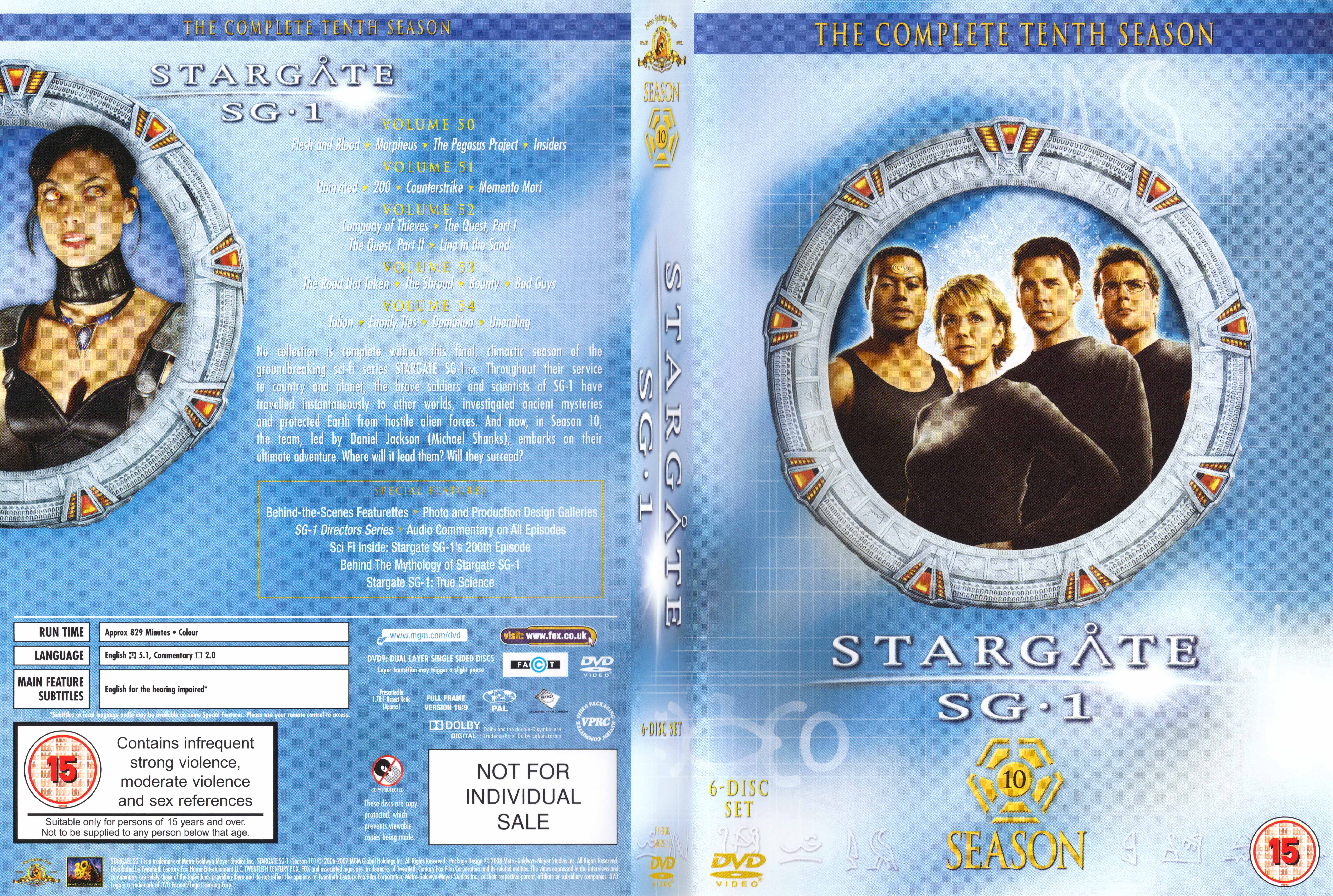 Stargate sg-1 season 3 episode guide & summaries and tv show schedule.