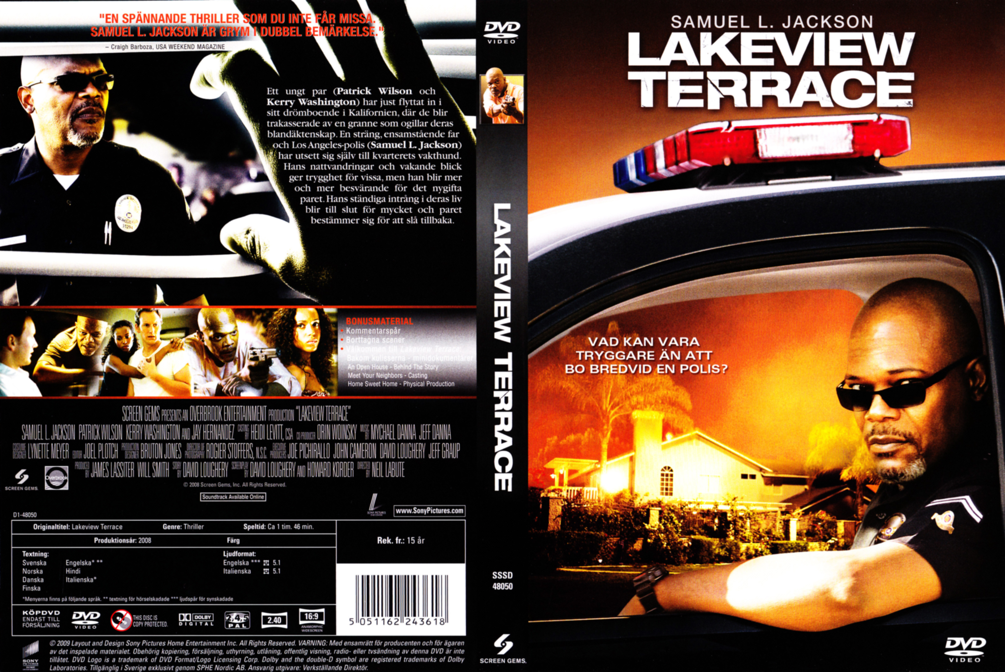 Covers box sk lakeview terrace 2009 high quality for Movies at the terrace