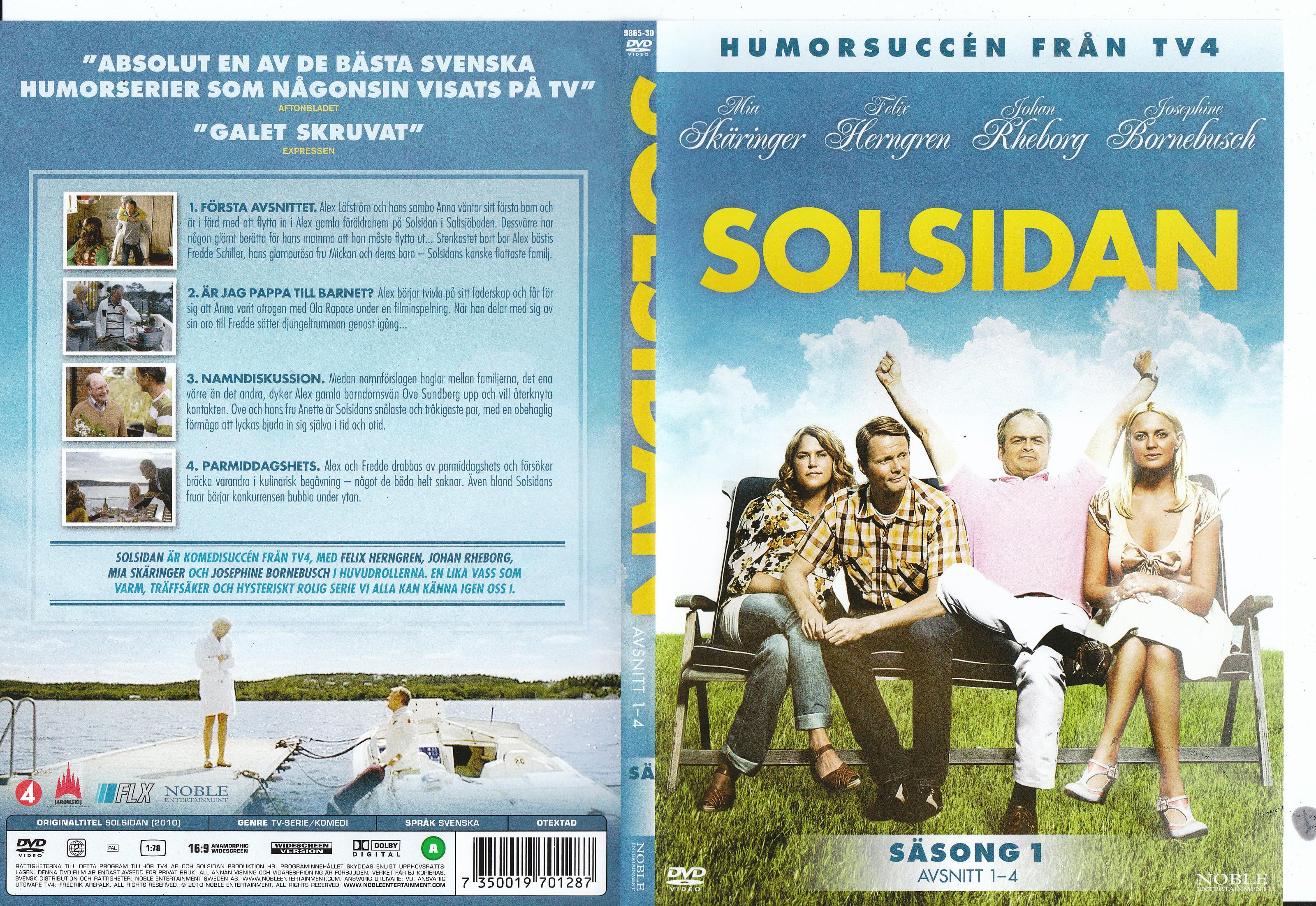 Covers Box Sk Solsidan Sasong 1 High Quality Dvd