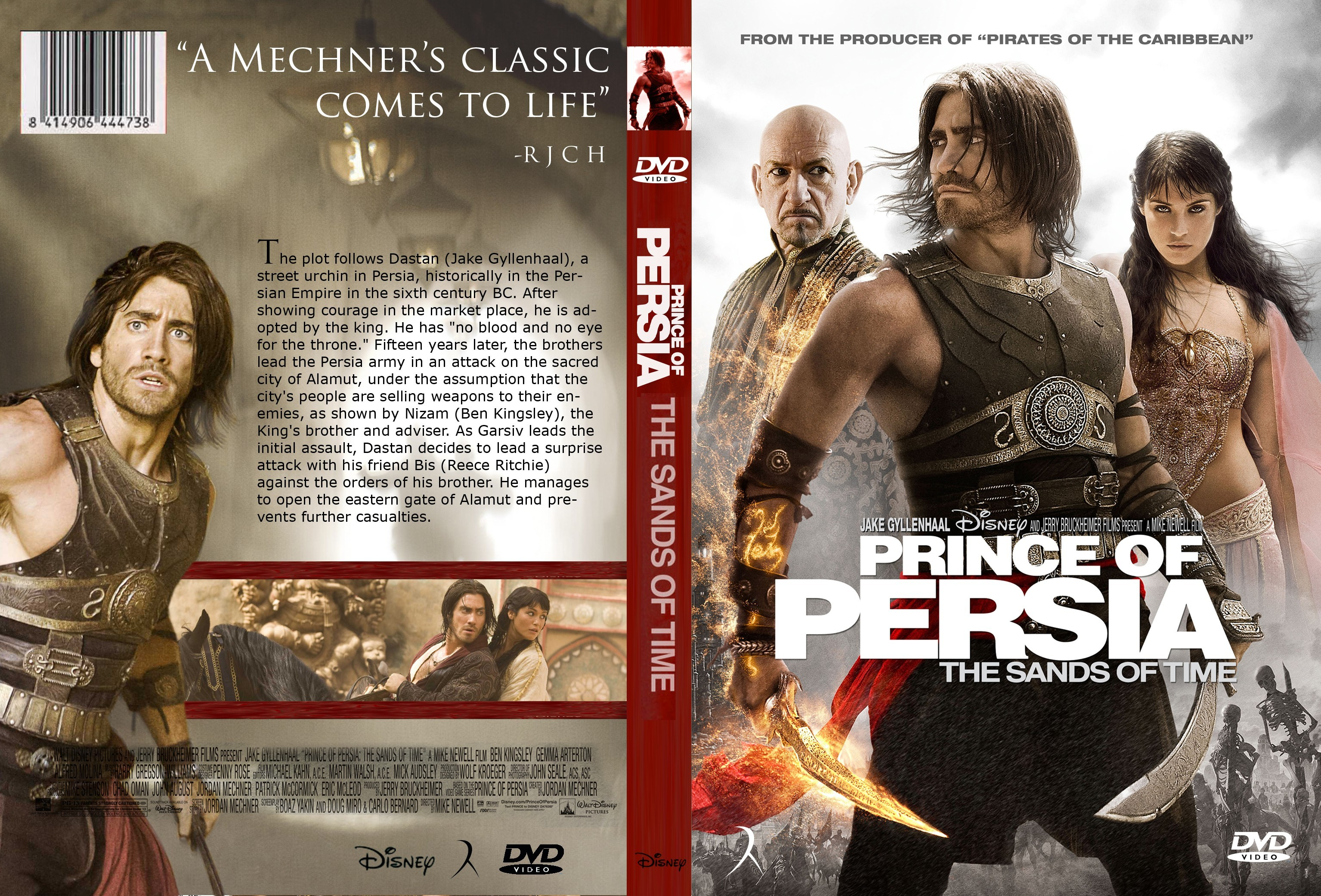 Covers Box Sk Prince Of Persia The Sand Of Time 2010 High Quality Dvd Blueray Movie
