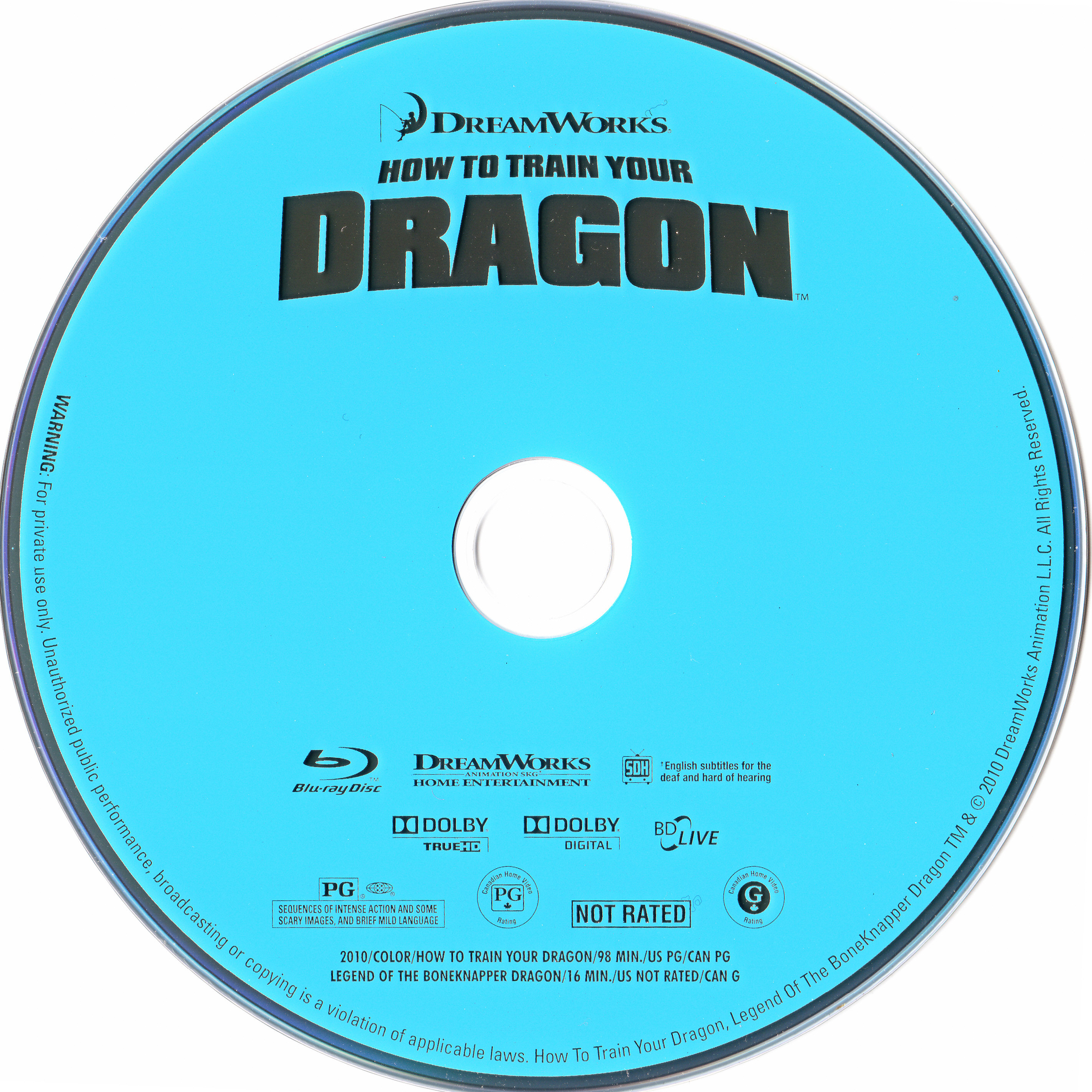 how to train your dragon blu ray download