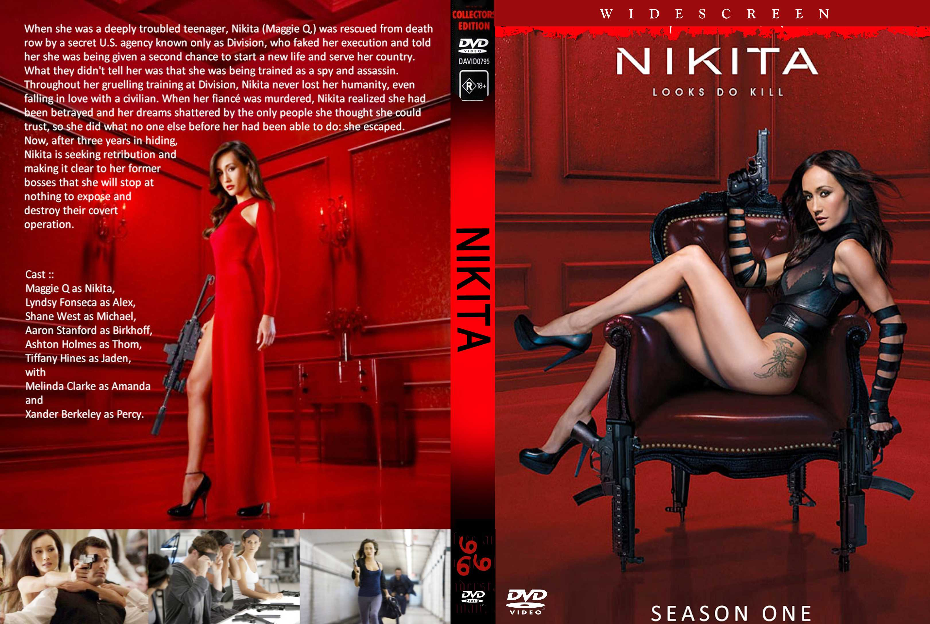 Nikita dvd serie