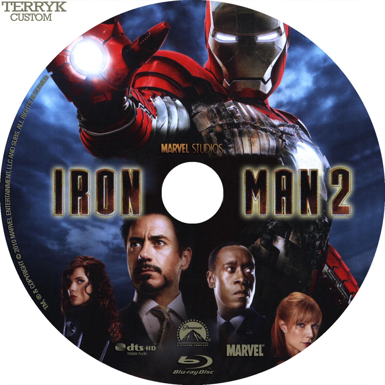 Iron Man 2  Blu-ray  - cdIron Man Dvd Cover