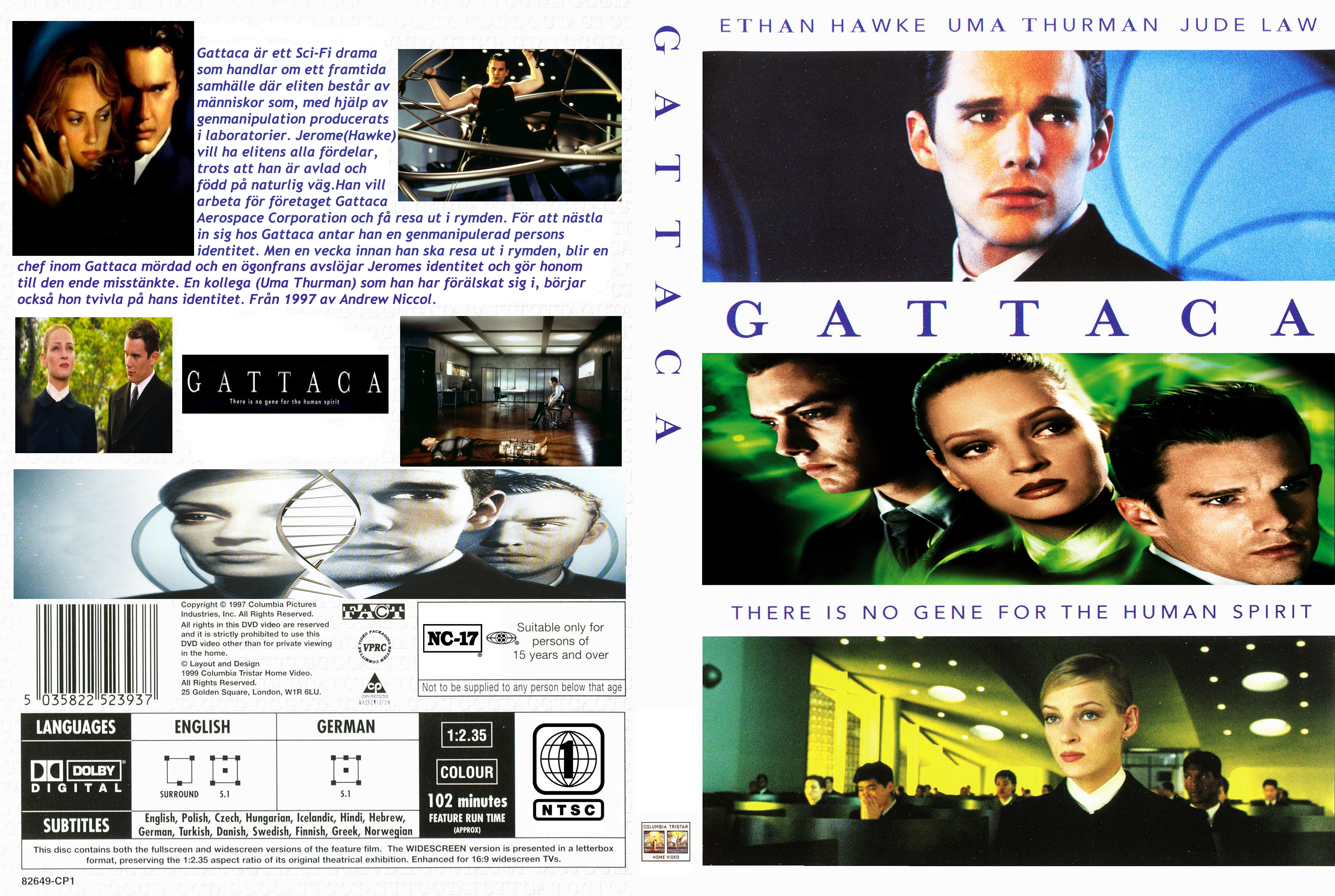 the issues represented in the movie gattaca The terms, valid and invalid, are used frequently in the 1997 science fiction movie, gattaca although they are not commonly used in the outside world of gattaca, they are used most often.