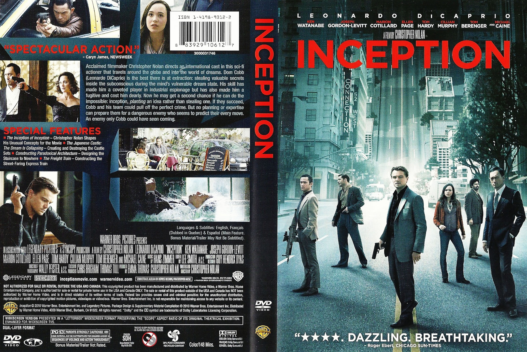 Amazoncom Inception  Movie Selections Piano Solos