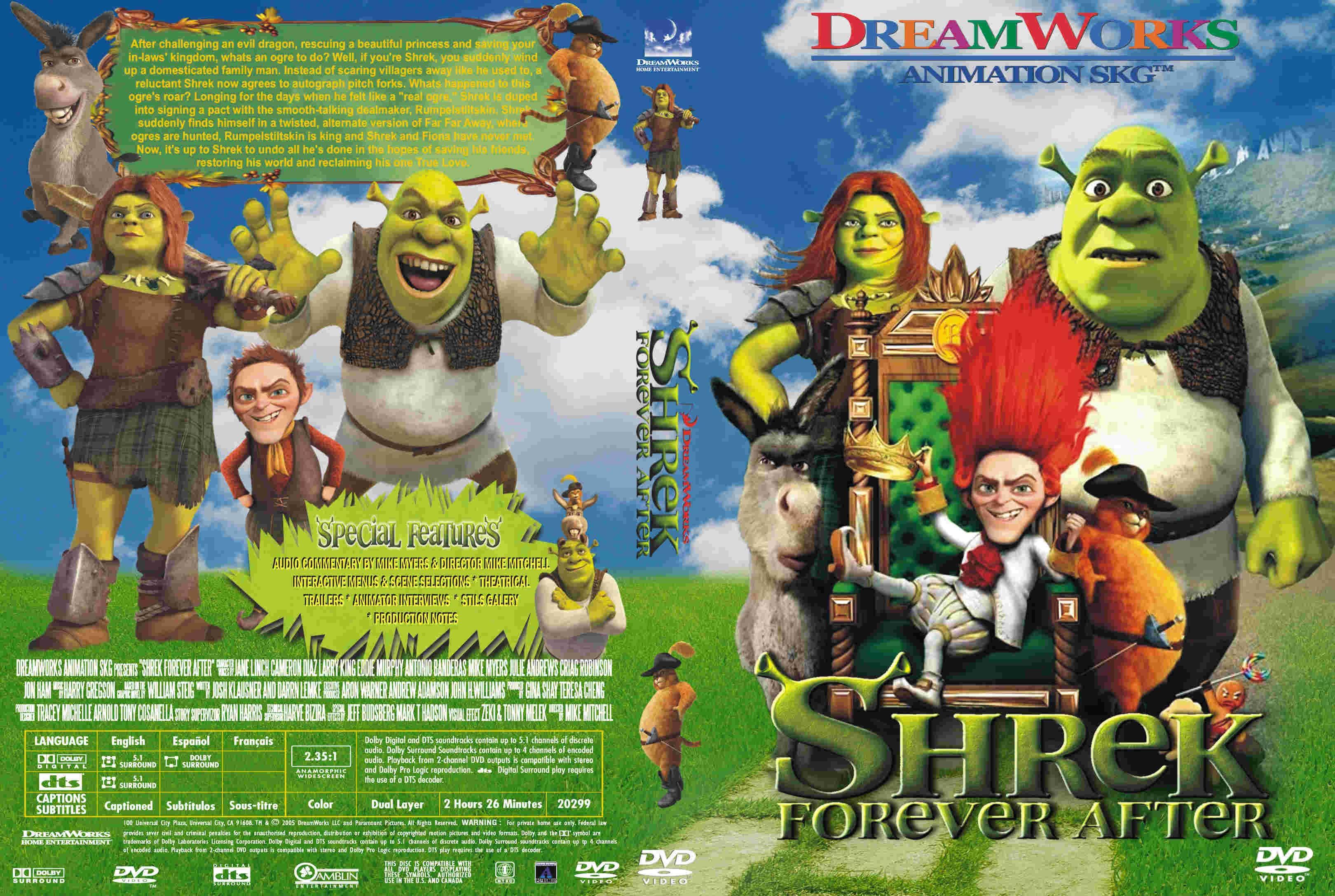 Covers Box Sk Shrek Forever After High Quality Dvd Blueray