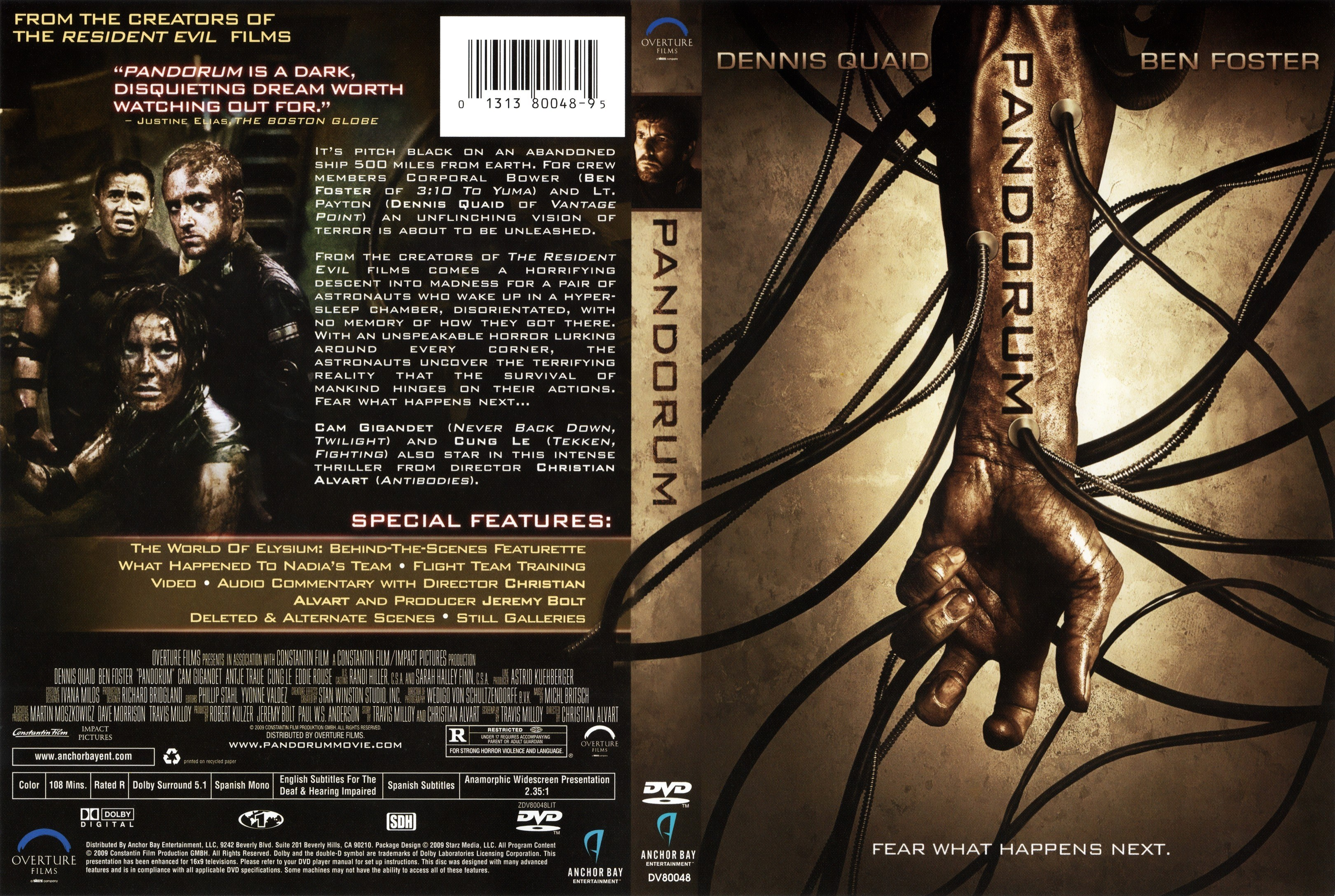 Watch online full movie Pandorum 2009 for free
