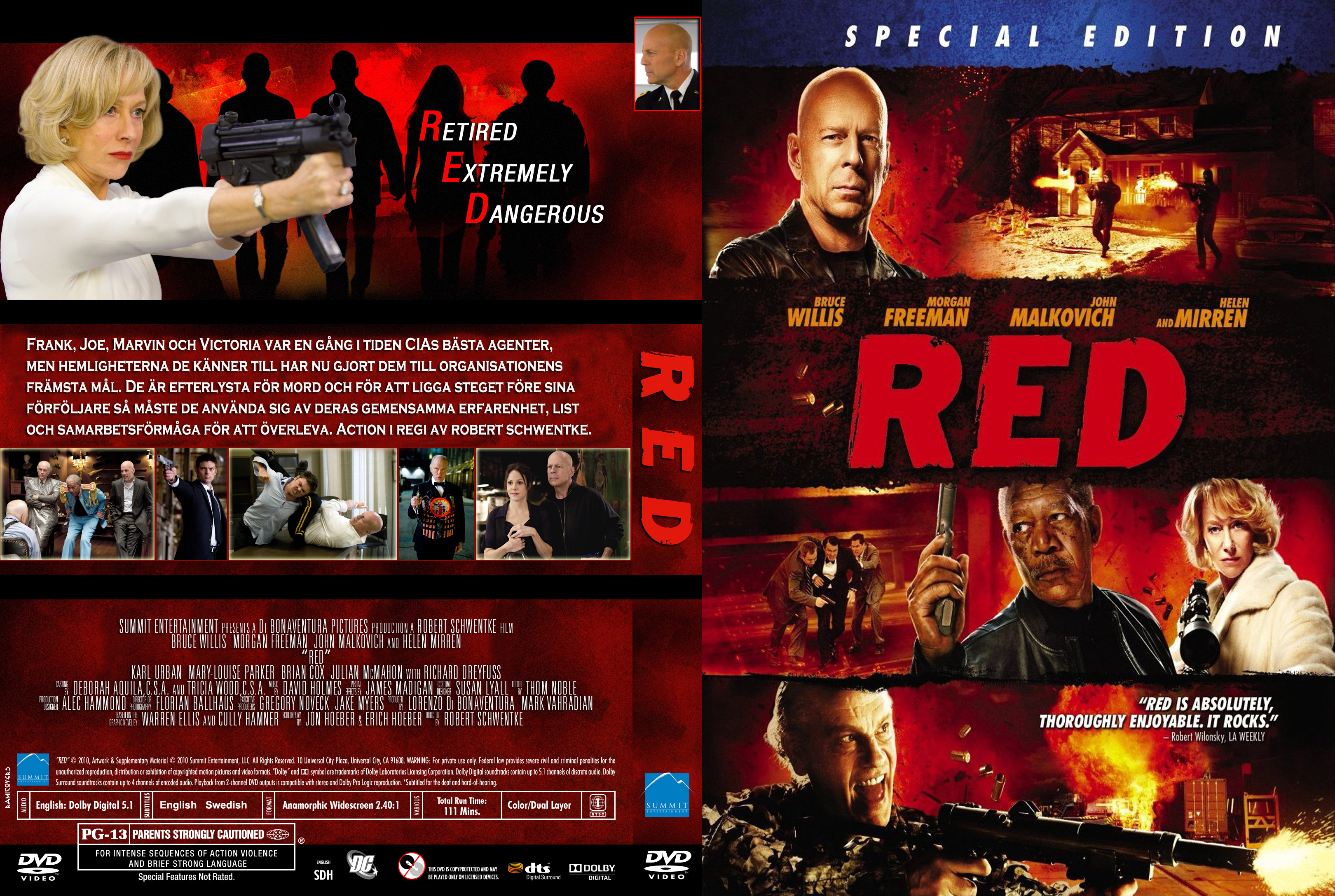Red 2 Dvd Front Cover ...