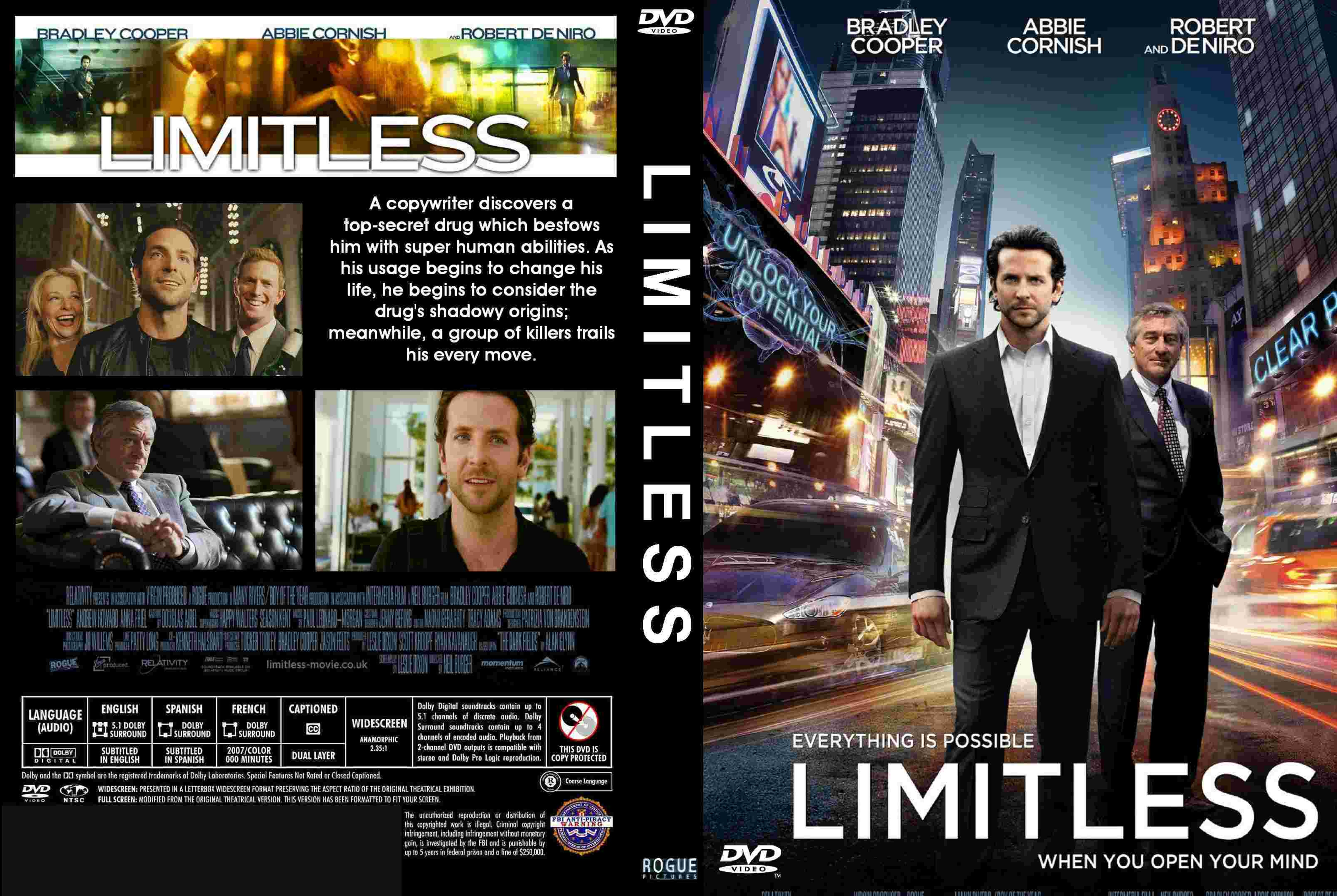 Covers Box Sk Limitless 2011 High Quality Dvd