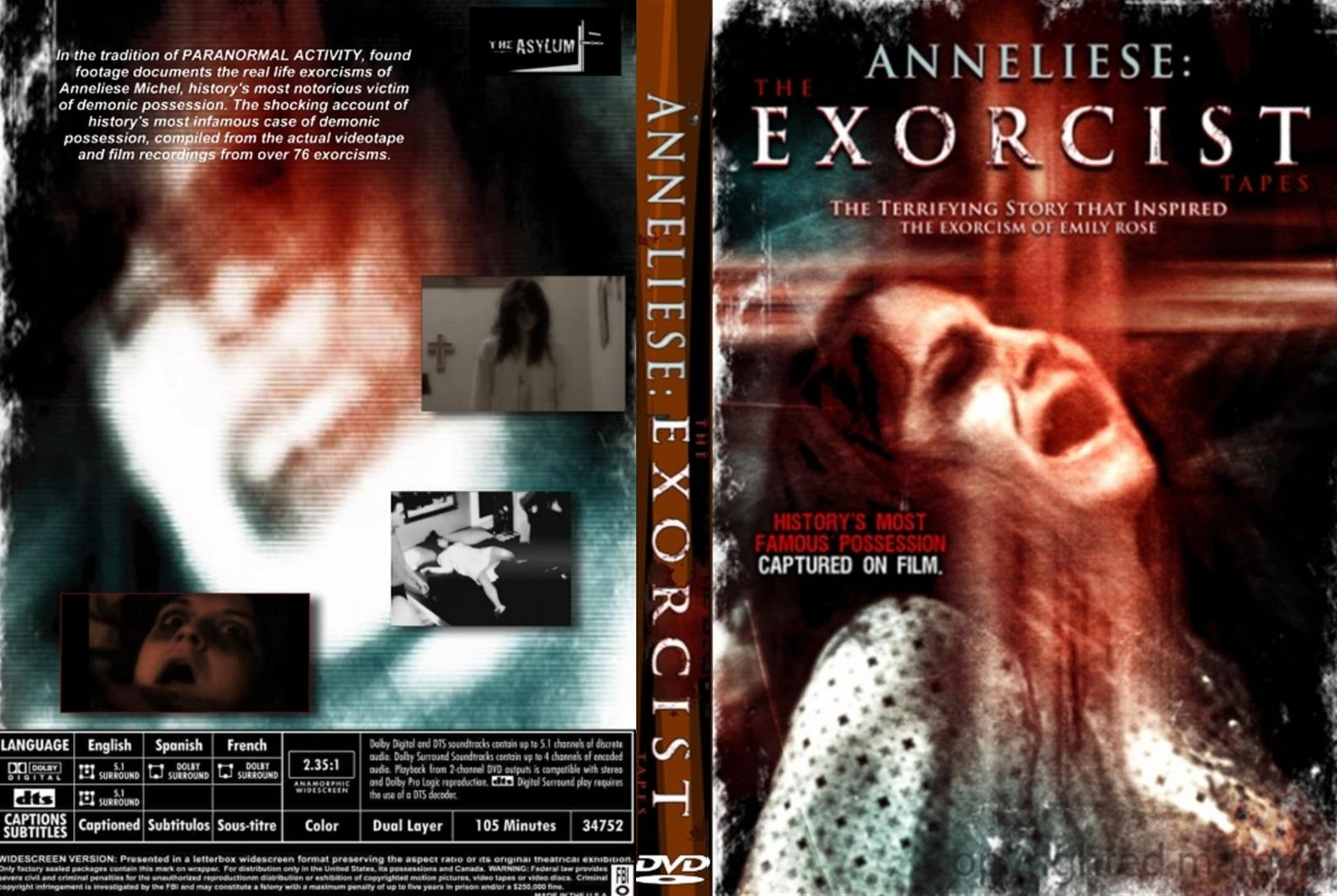 COVERS BOX SK ::: anneliese the exorcist tapes (2011) - high