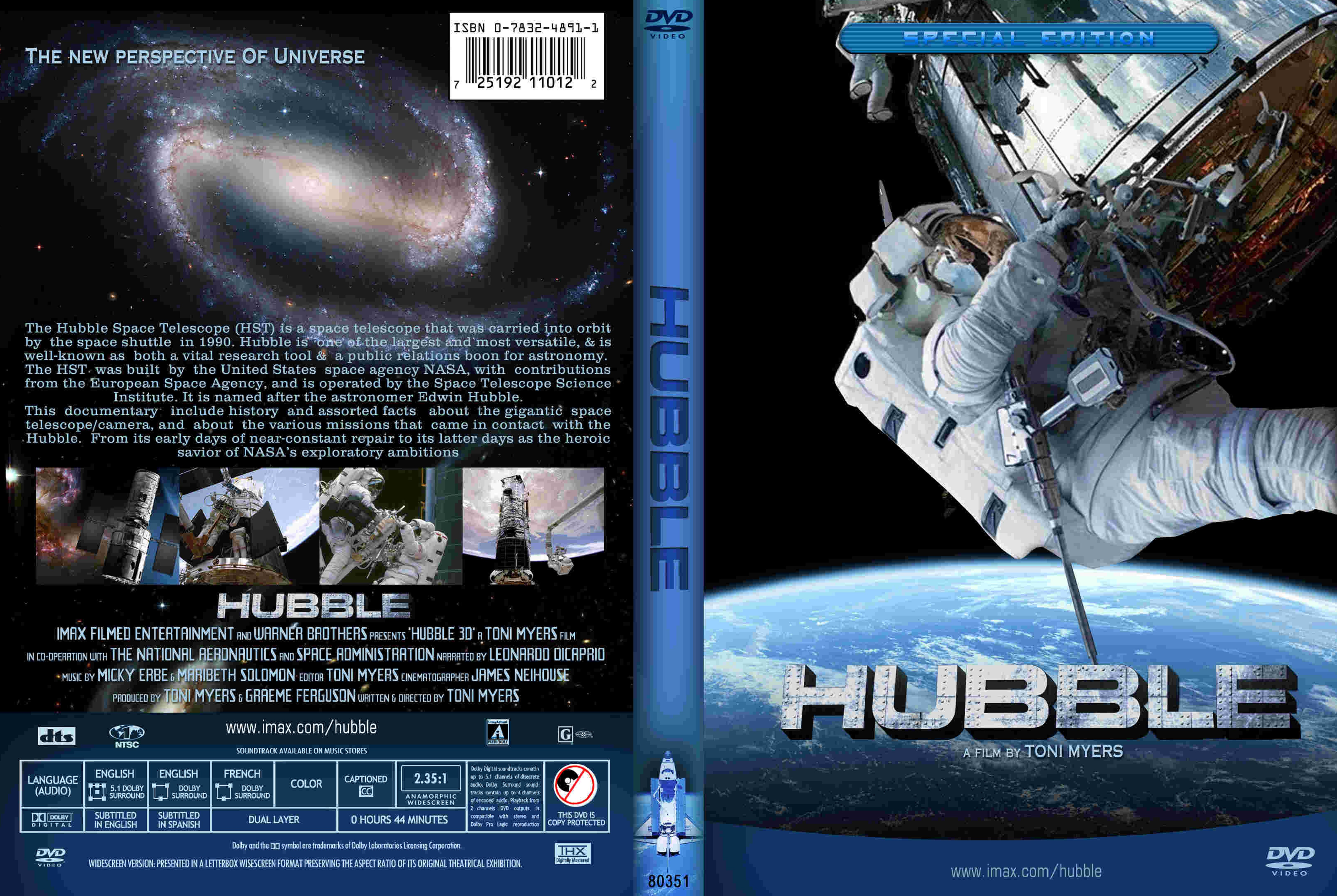 cover blu ray imax hubble - photo #5