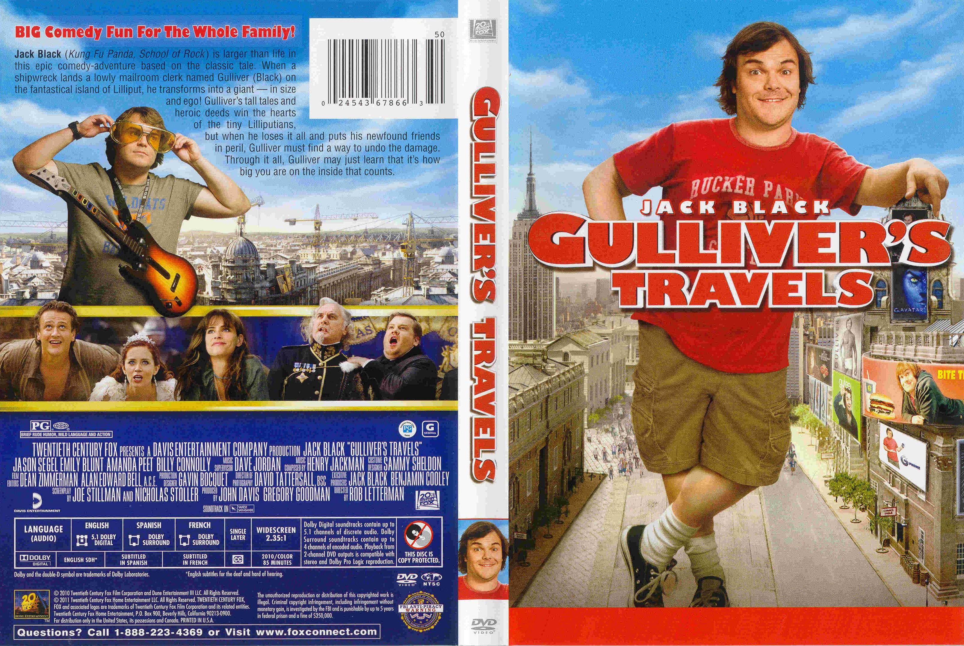gullivers travels mod