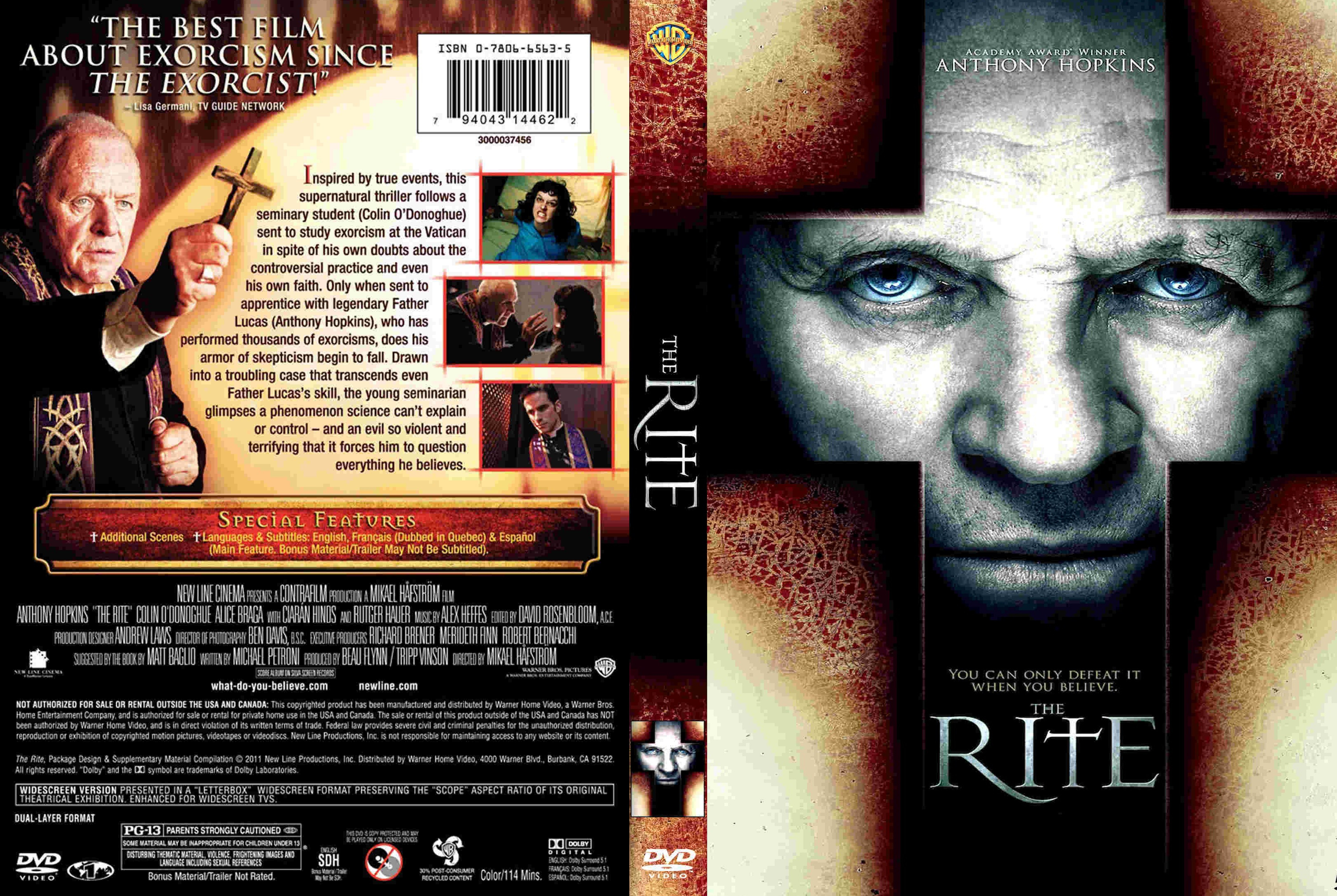 The Rite Dvd Cover