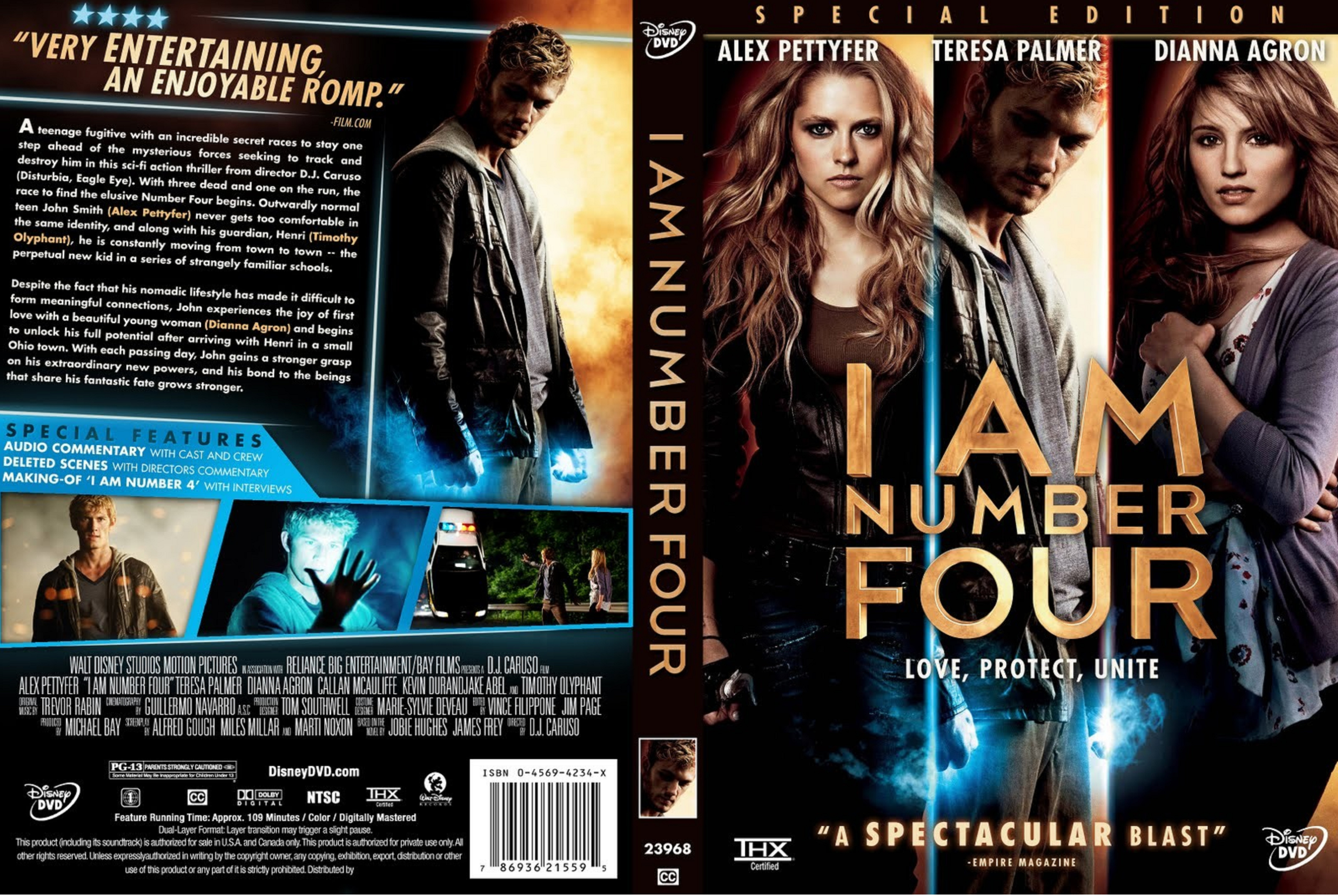 covers.box.sk ::: i am number four (2011) - high quality dvd