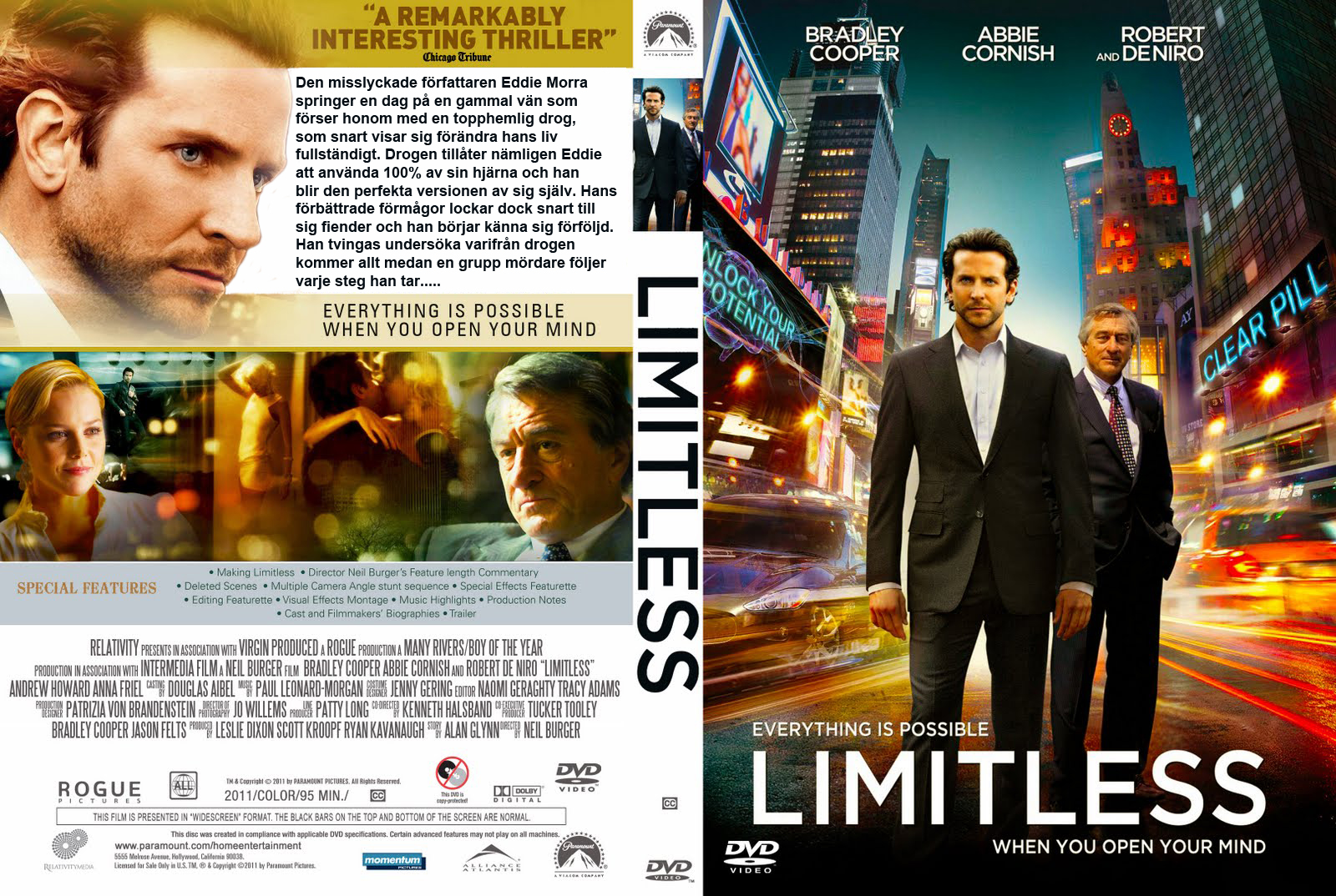 Covers Box Sk Limitless High Quality Dvd Blueray