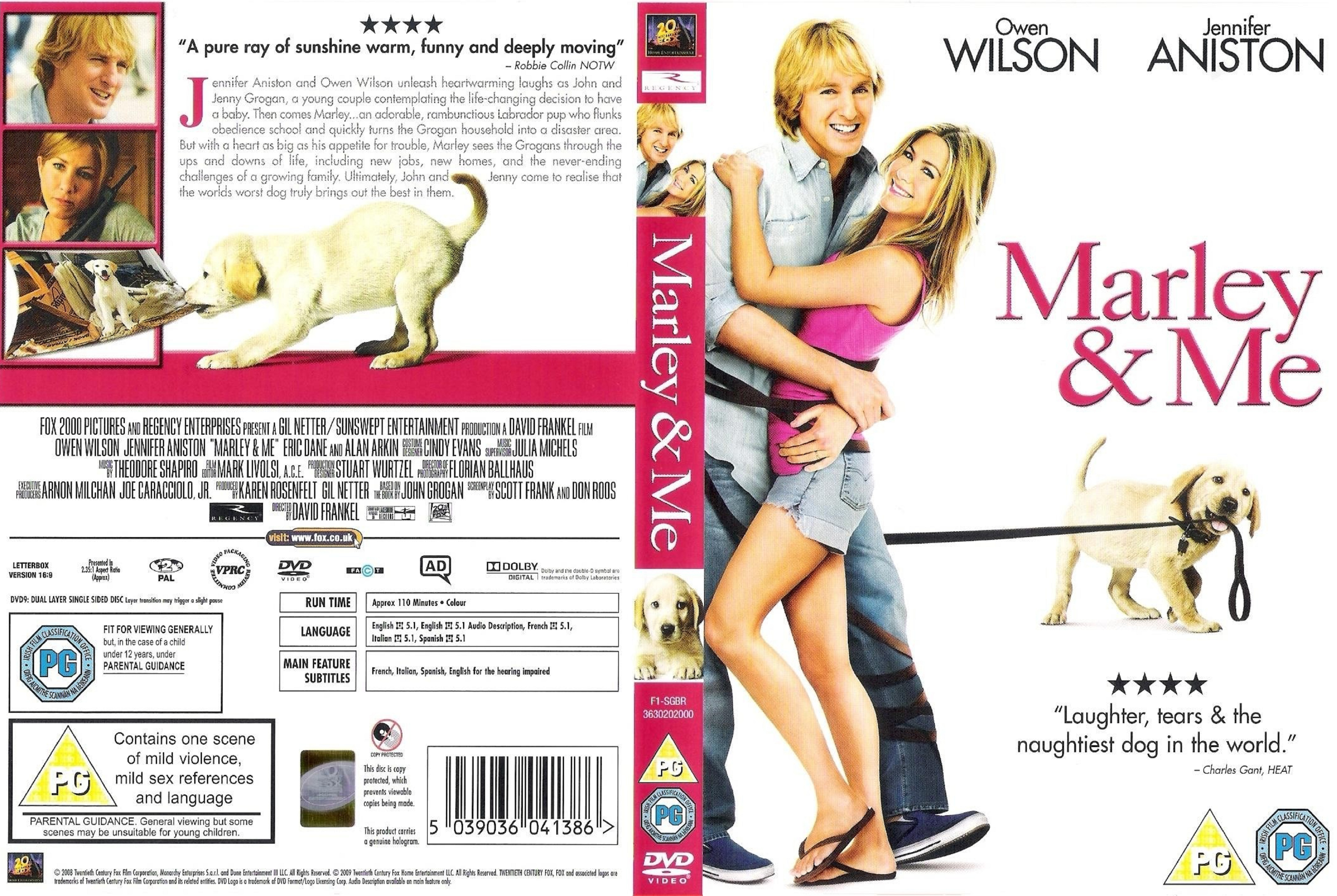 Covers Box Sk Marley And Me 2008 High Quality Dvd Blueray Movie