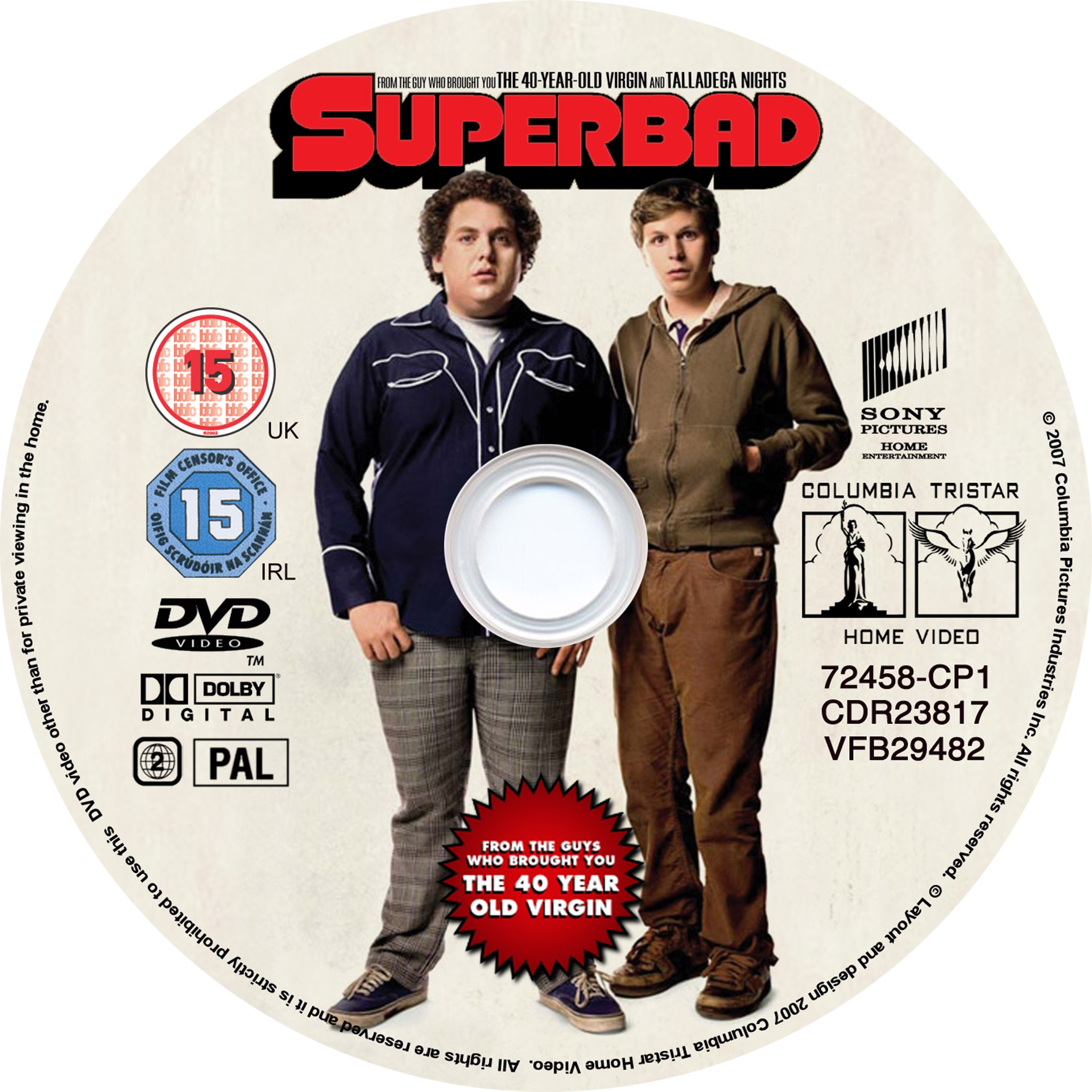 Covers Box Sk Superbad 2007 High Quality Dvd Blueray Movie